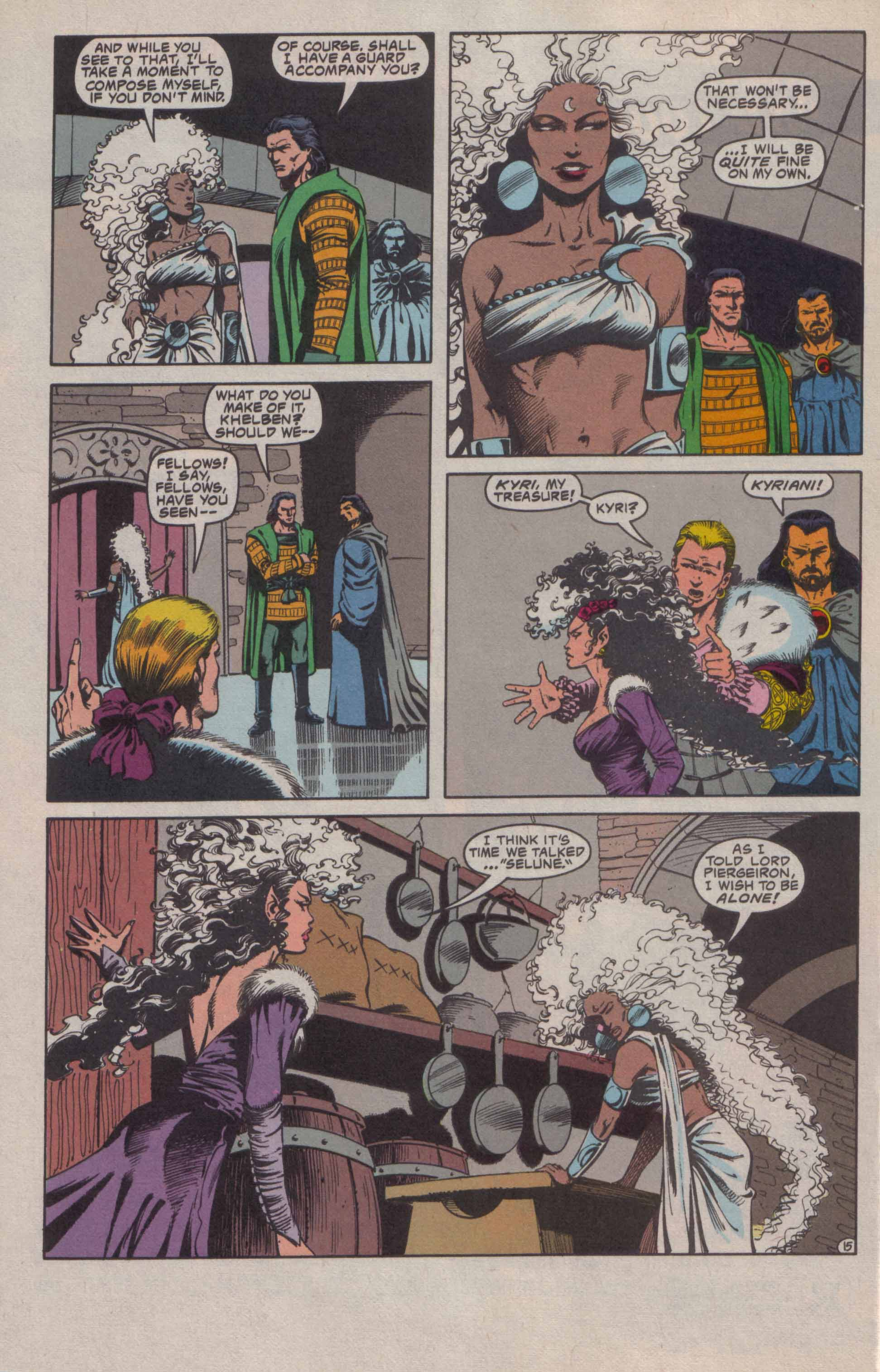 Read online Advanced Dungeons & Dragons comic -  Issue #20 - 16