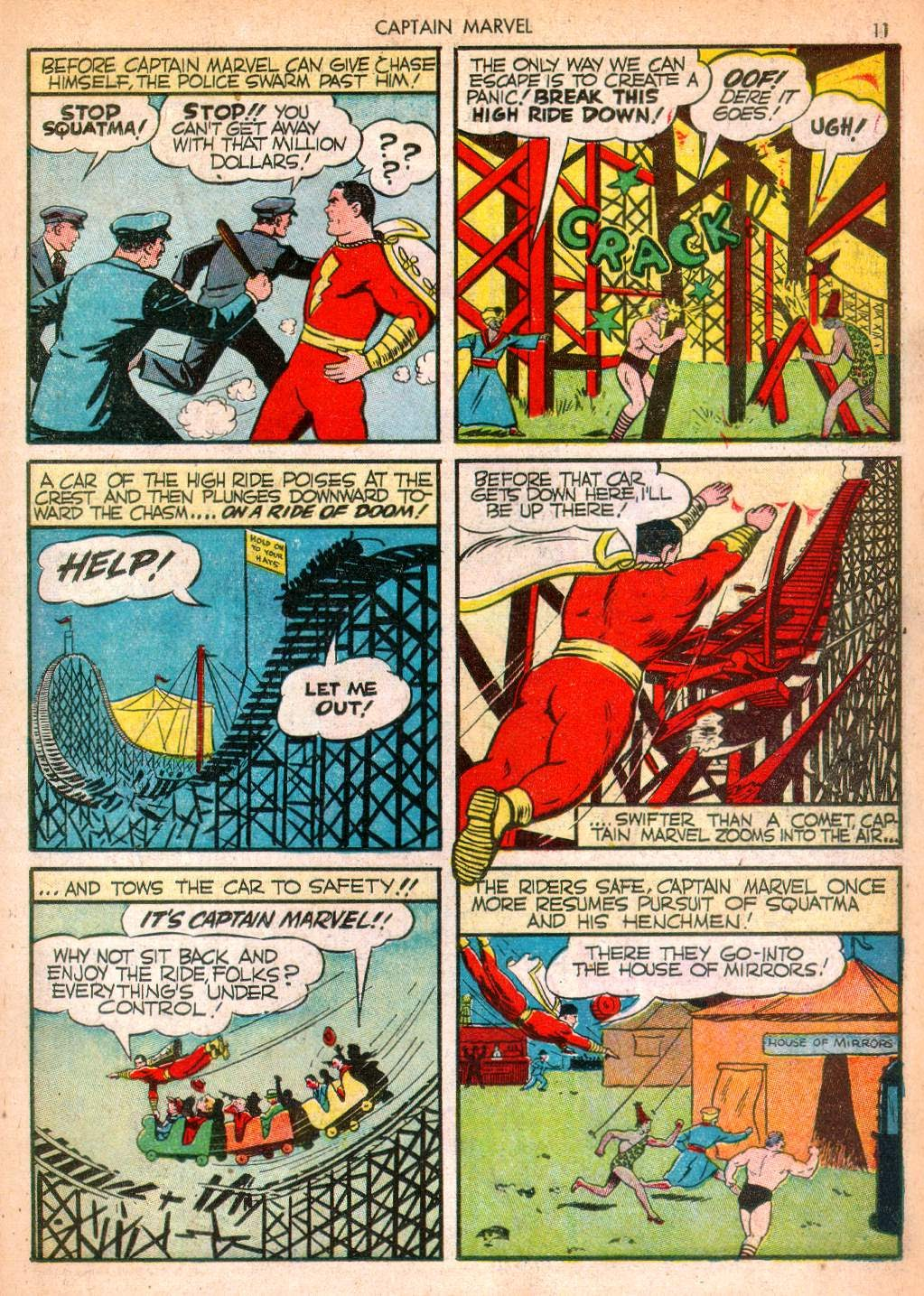 Captain Marvel Adventures issue 10 - Page 11