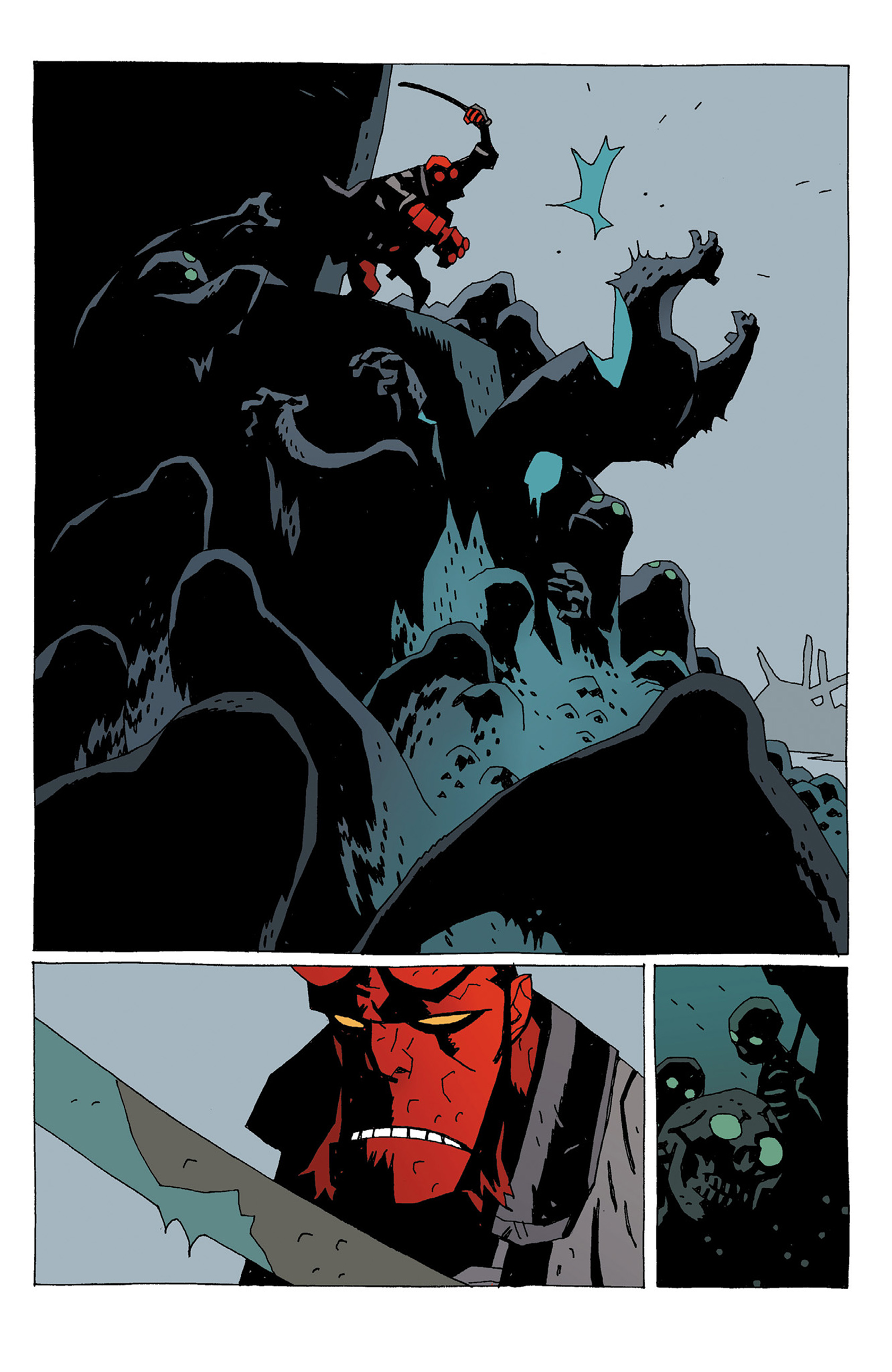 Read online Hellboy: Strange Places comic -  Issue # TPB - 141