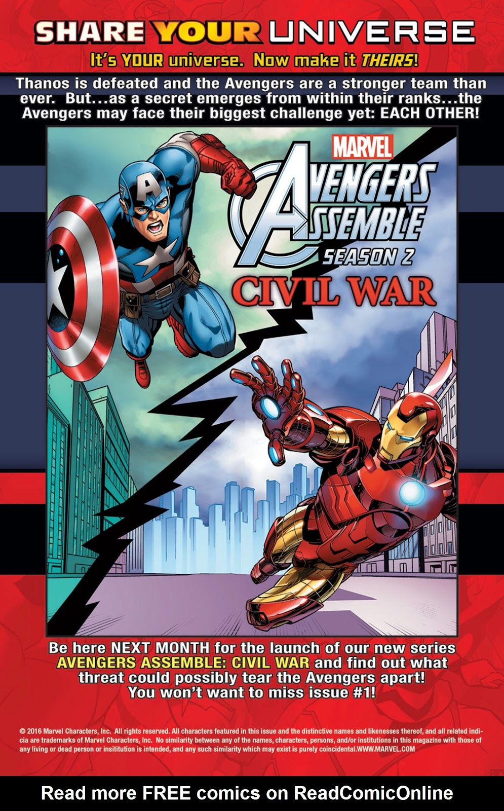 Read online Marvel Universe Avengers Assemble Season 2 comic -  Issue #16 - 30