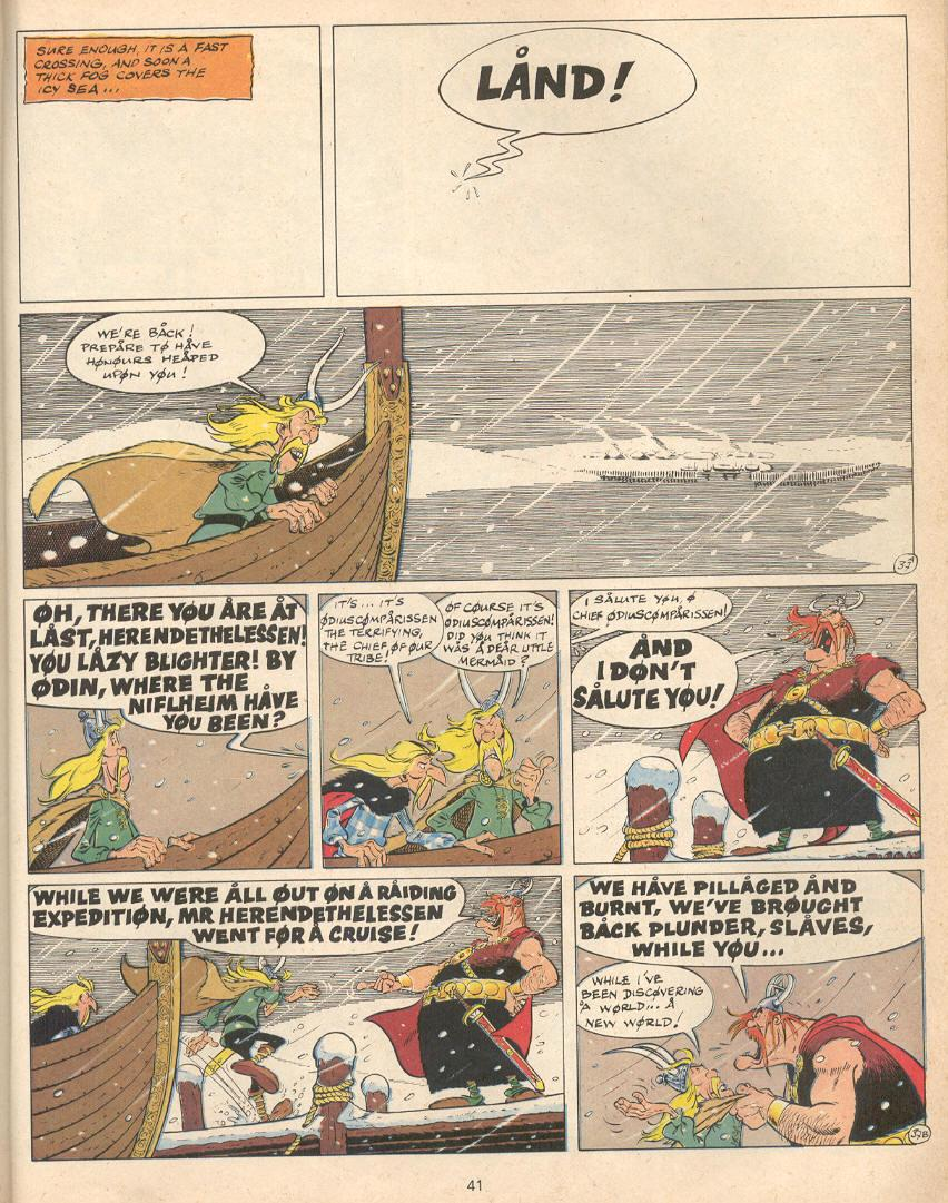 Read online Asterix comic -  Issue #22 - 38