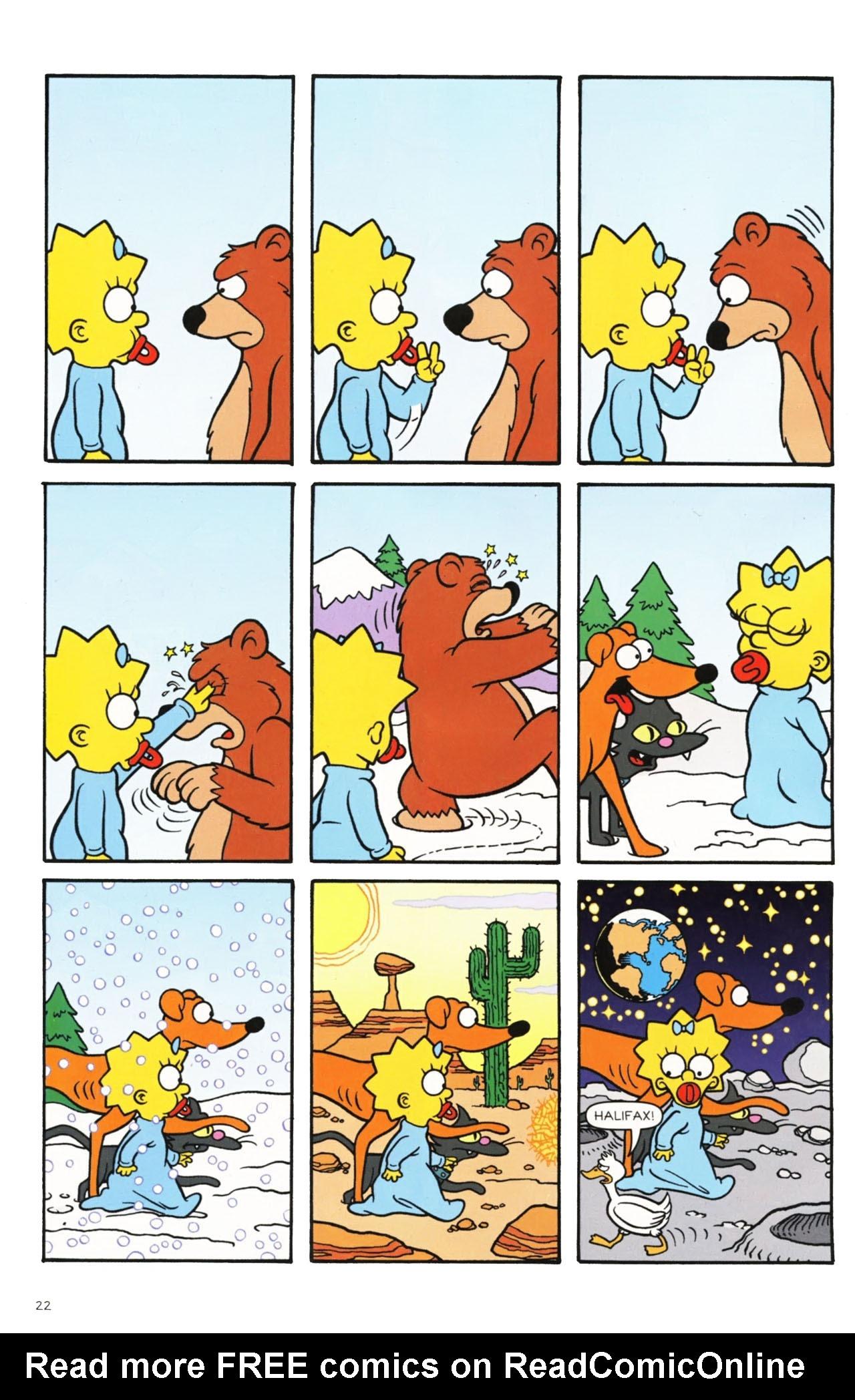 Read online Simpsons Comics comic -  Issue #160 - 20