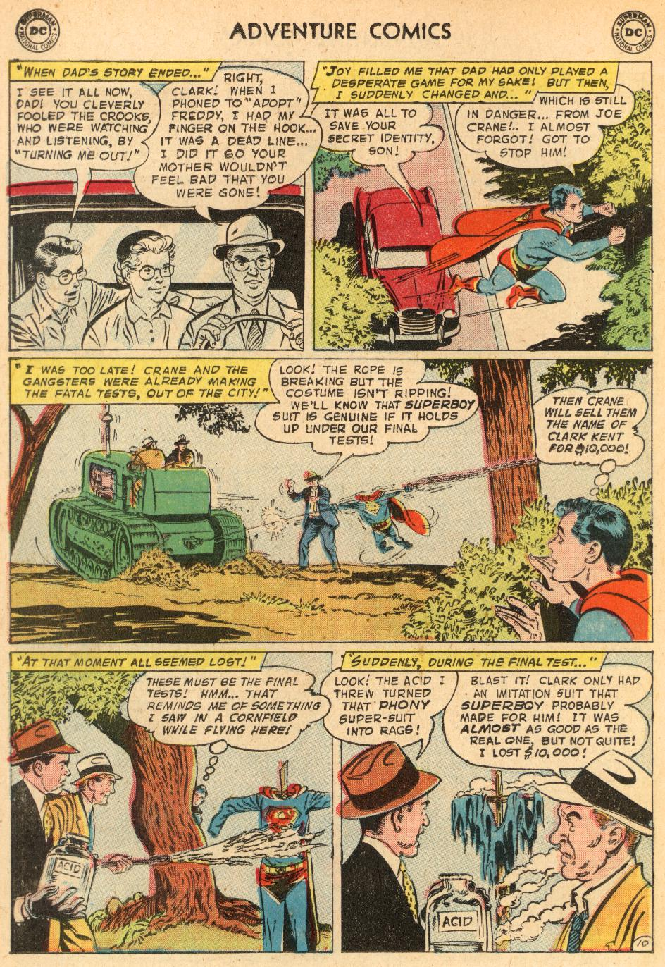 Read online Adventure Comics (1938) comic -  Issue #249 - 12