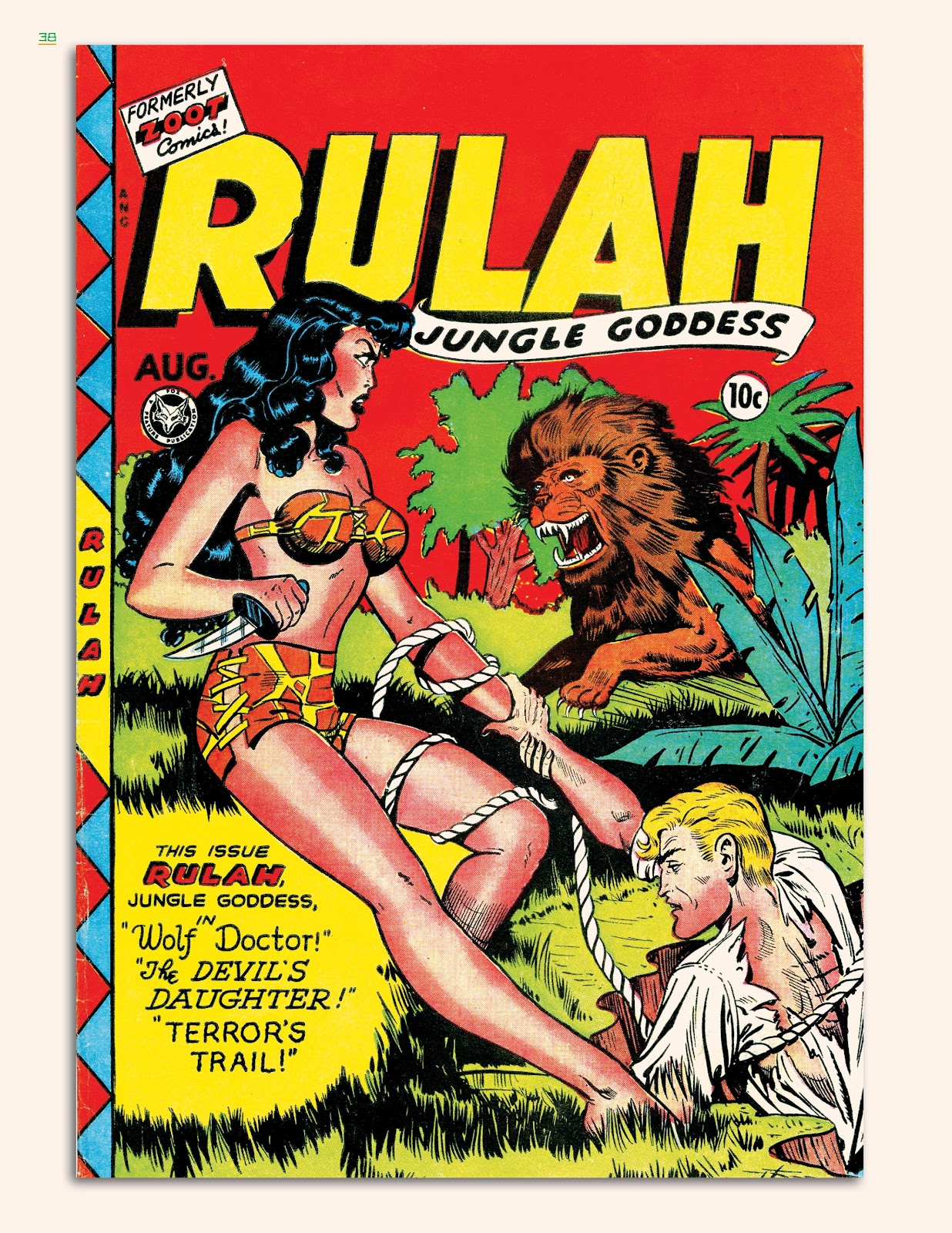 Read online Jungle Girls comic -  Issue # TPB (Part 1) - 39