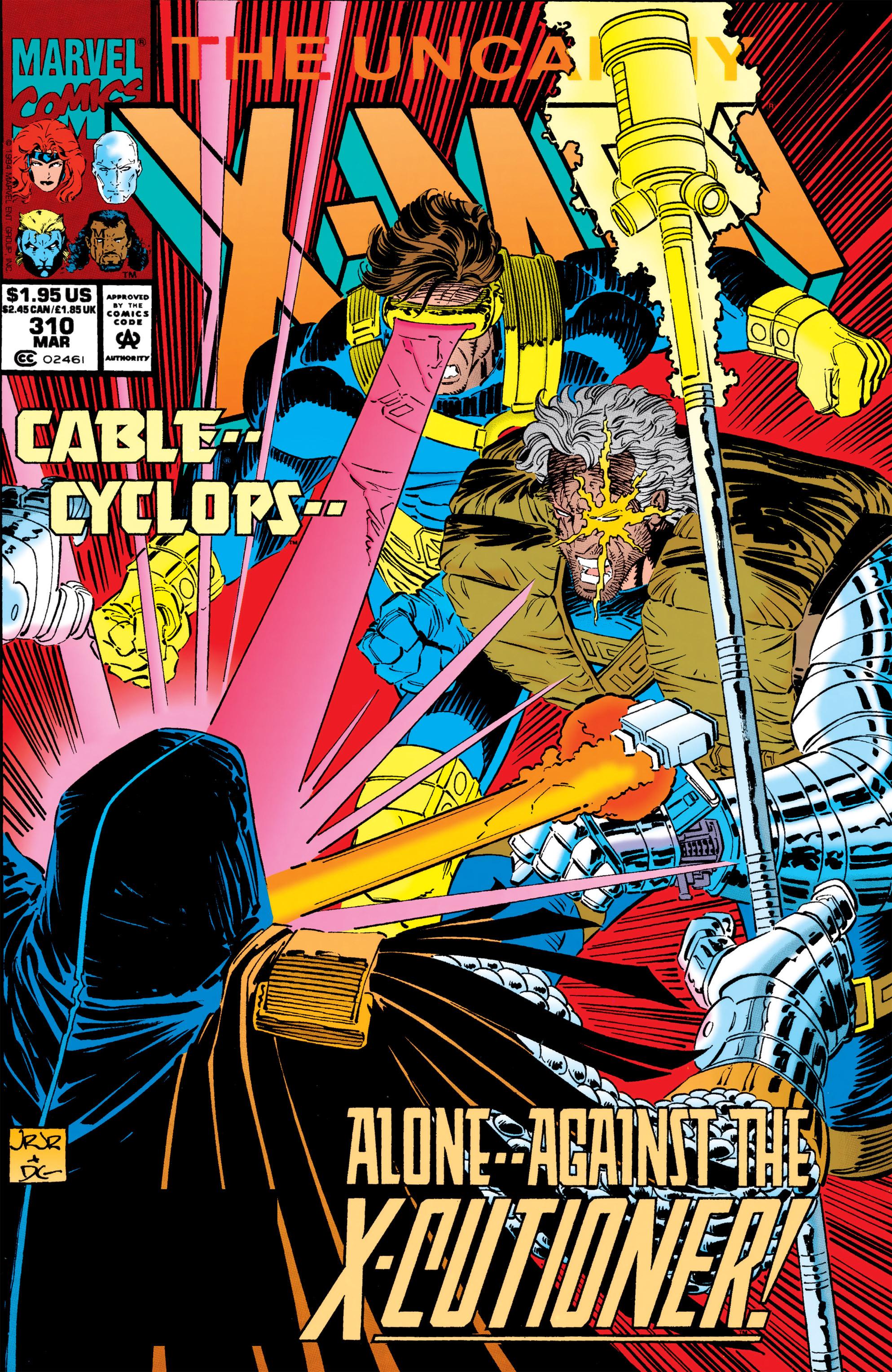 Read online Uncanny X-Men (1963) comic -  Issue #310 - 1