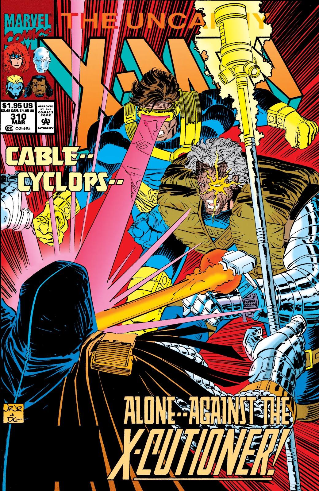 Uncanny X-Men (1963) 310 Page 1