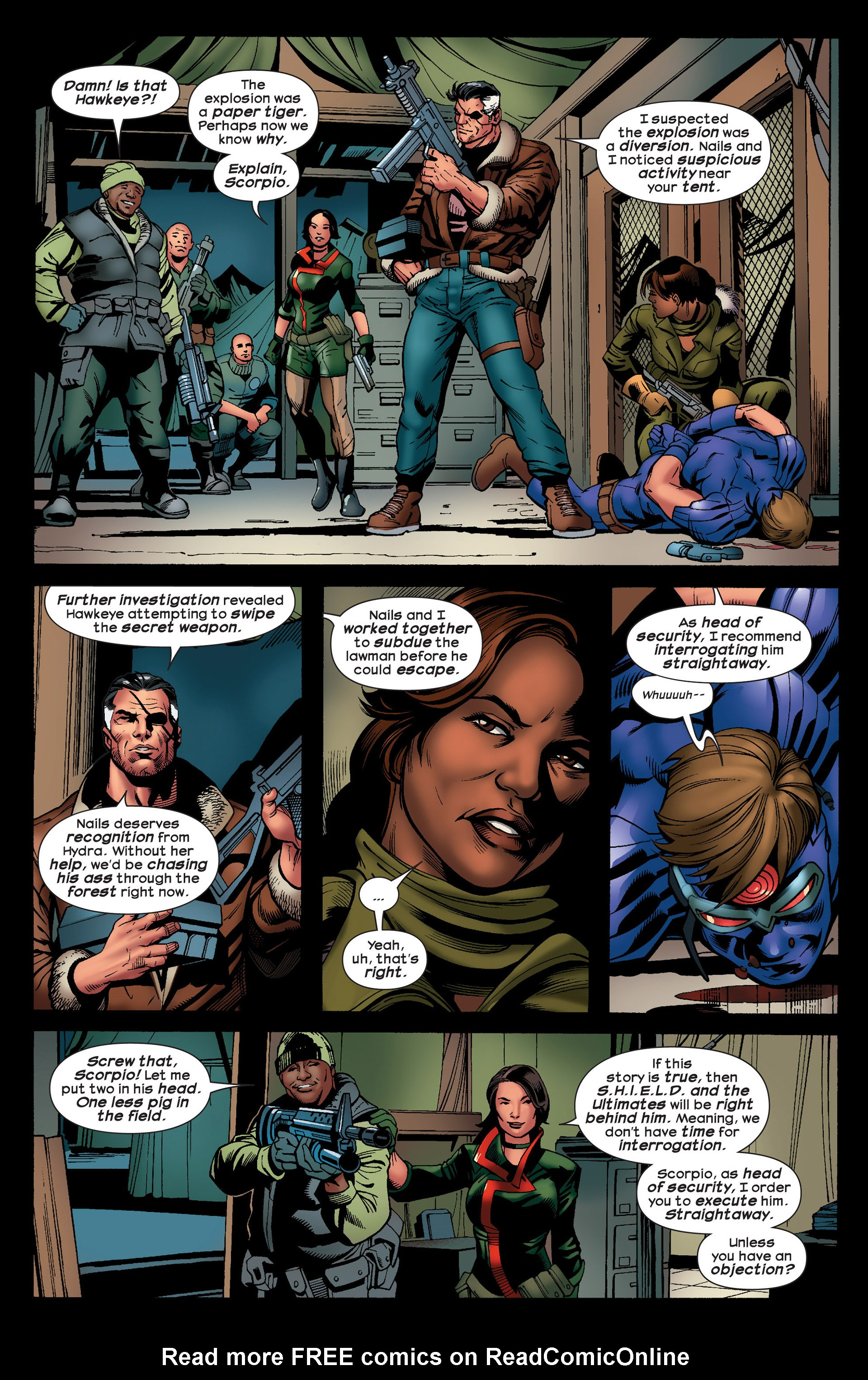 Read online Ultimate Comics Ultimates comic -  Issue #20 - 21