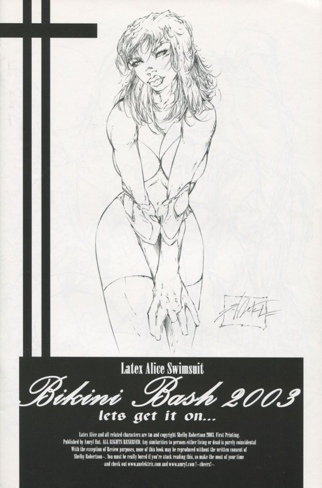 Read online Latex Alice - Bikini Bash Swimsuit Special comic -  Issue # Full - 3