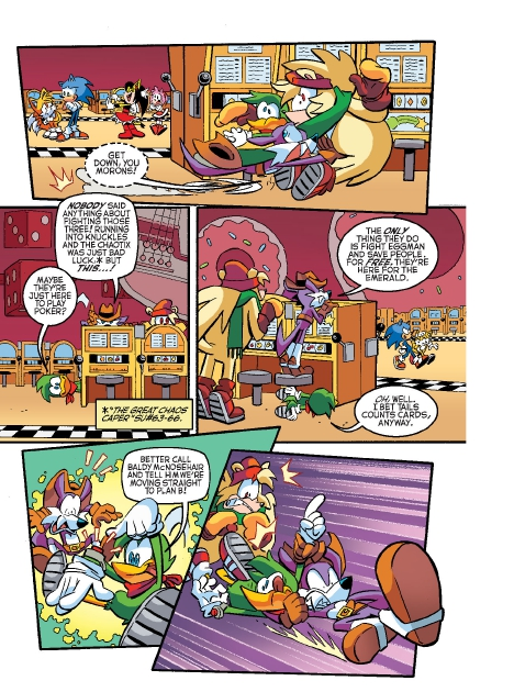 Read online Sonic Comics Spectacular: Speed of Sound comic -  Issue # Full - 12