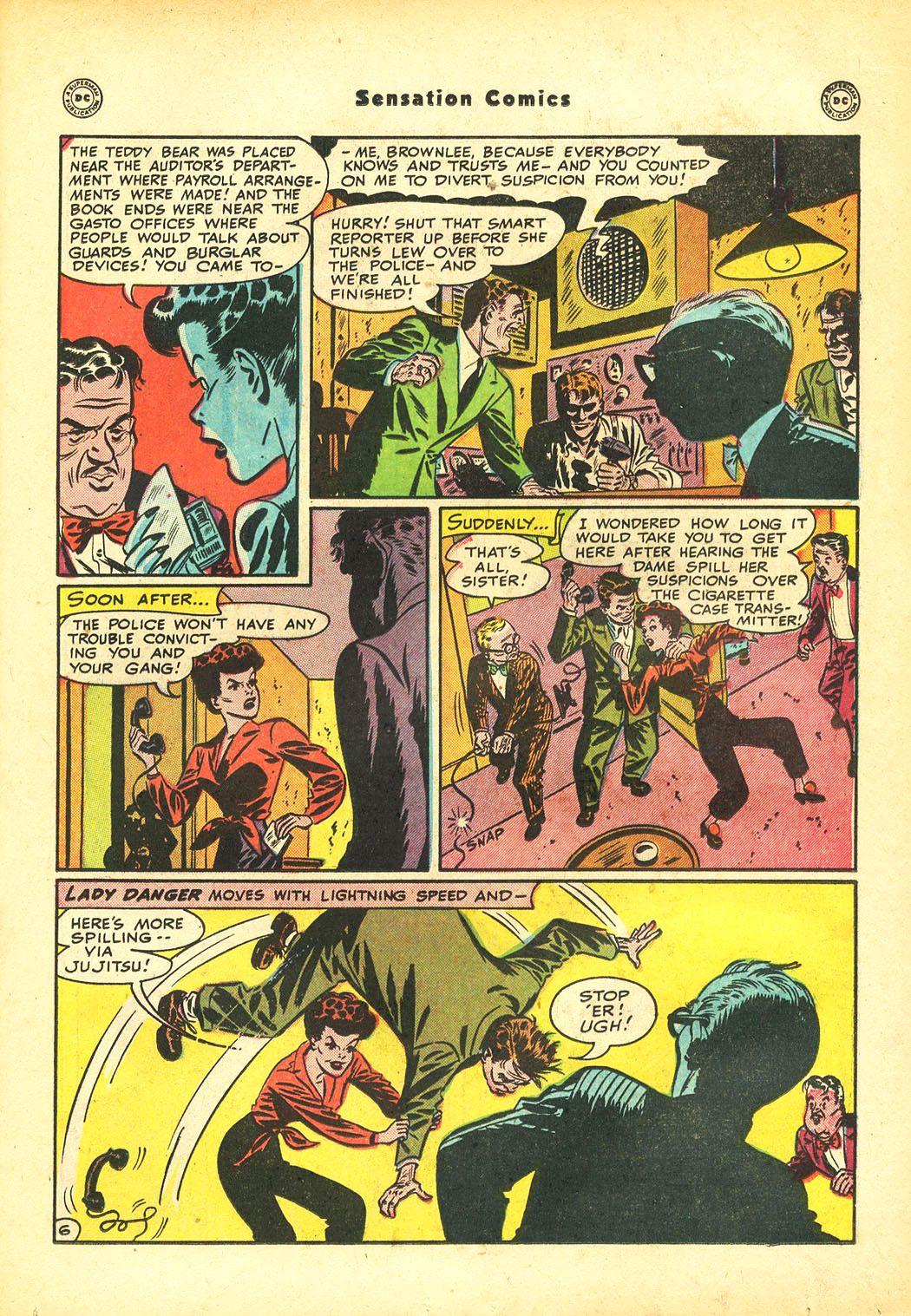 Read online Sensation (Mystery) Comics comic -  Issue #86 - 21