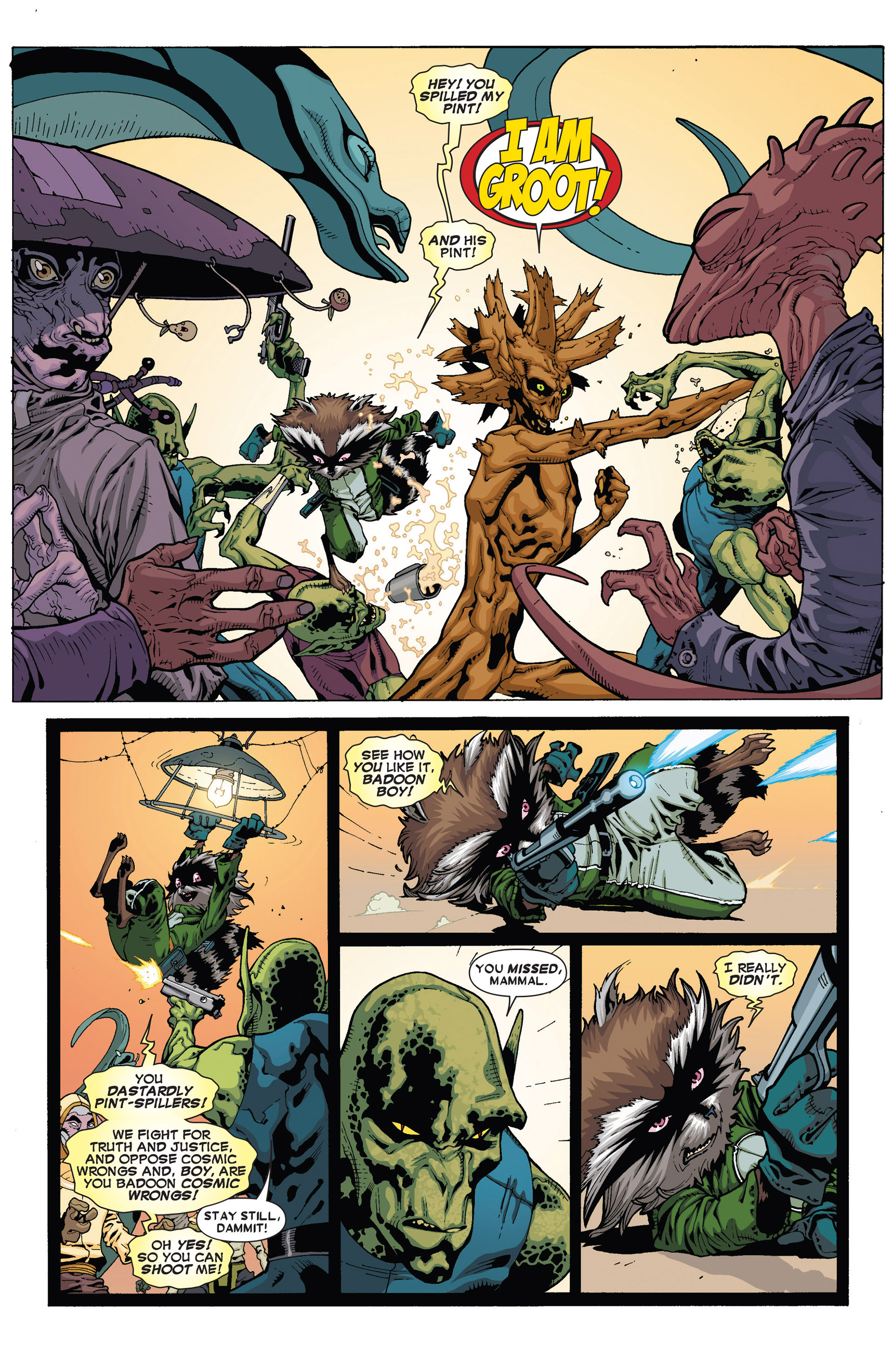 Read online Annihilators: Earthfall comic -  Issue #1 - 24