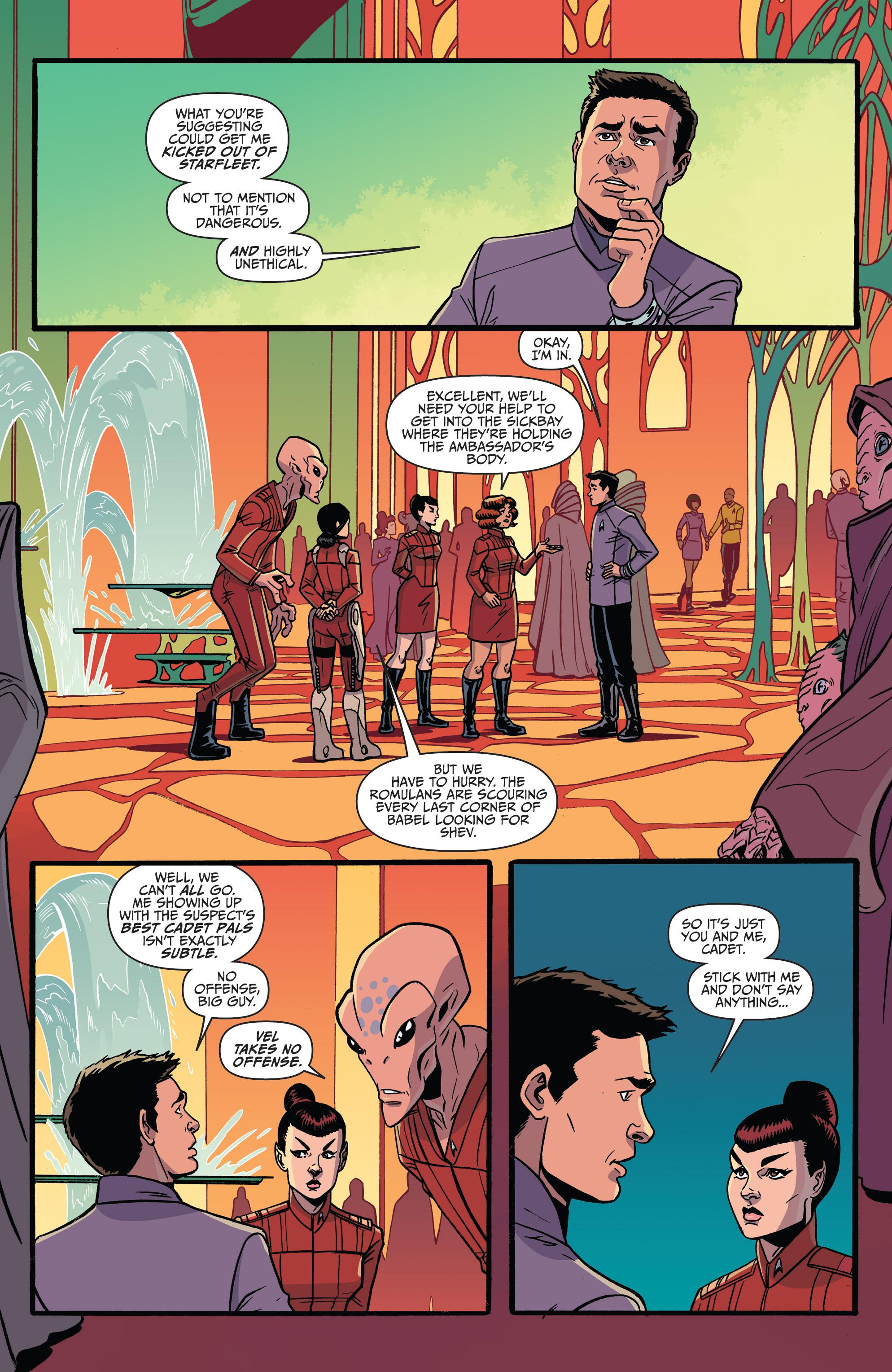 Read online Star Trek: Boldly Go comic -  Issue #8 - 11
