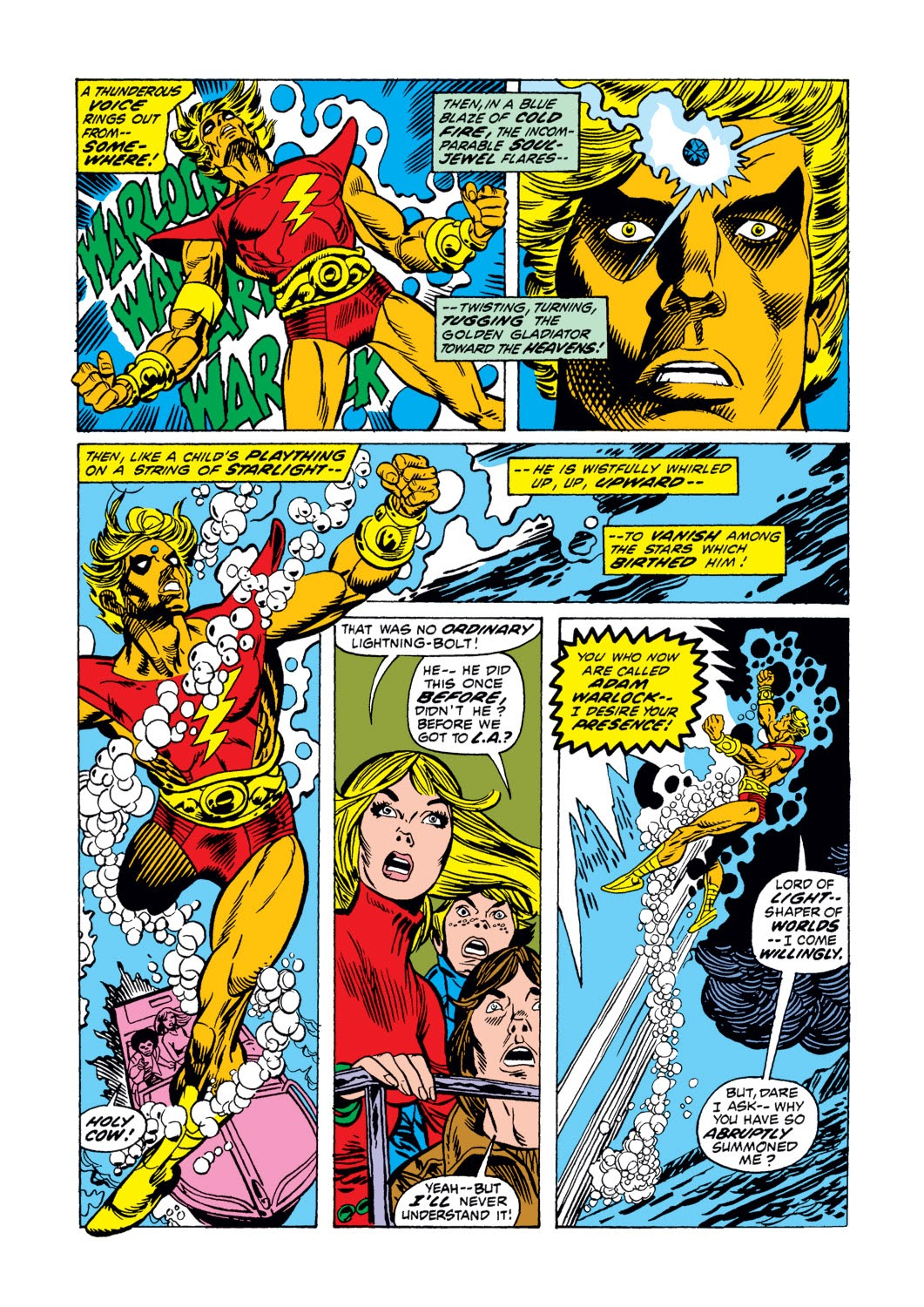 Warlock (1972) issue 3 - Page 4