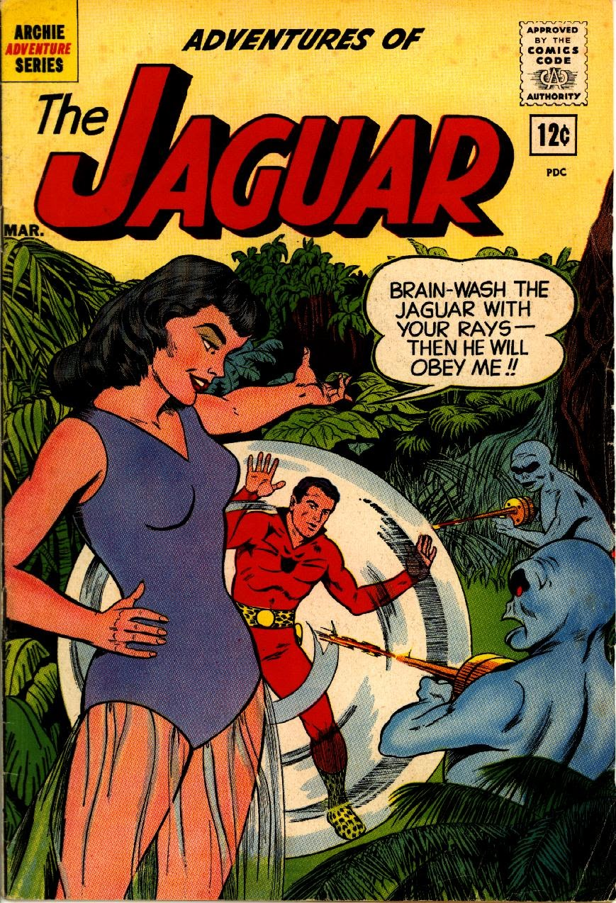 Adventures of the Jaguar issue 5 - Page 1