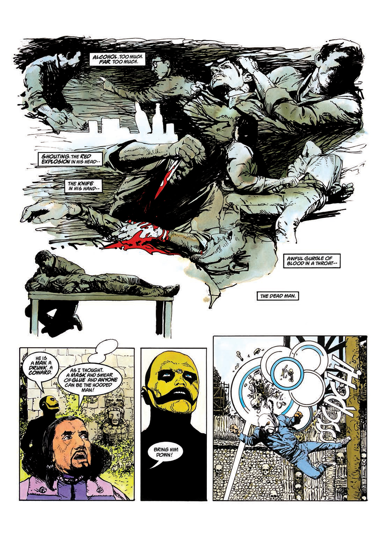 Read online Mazeworld comic -  Issue # TPB - 40