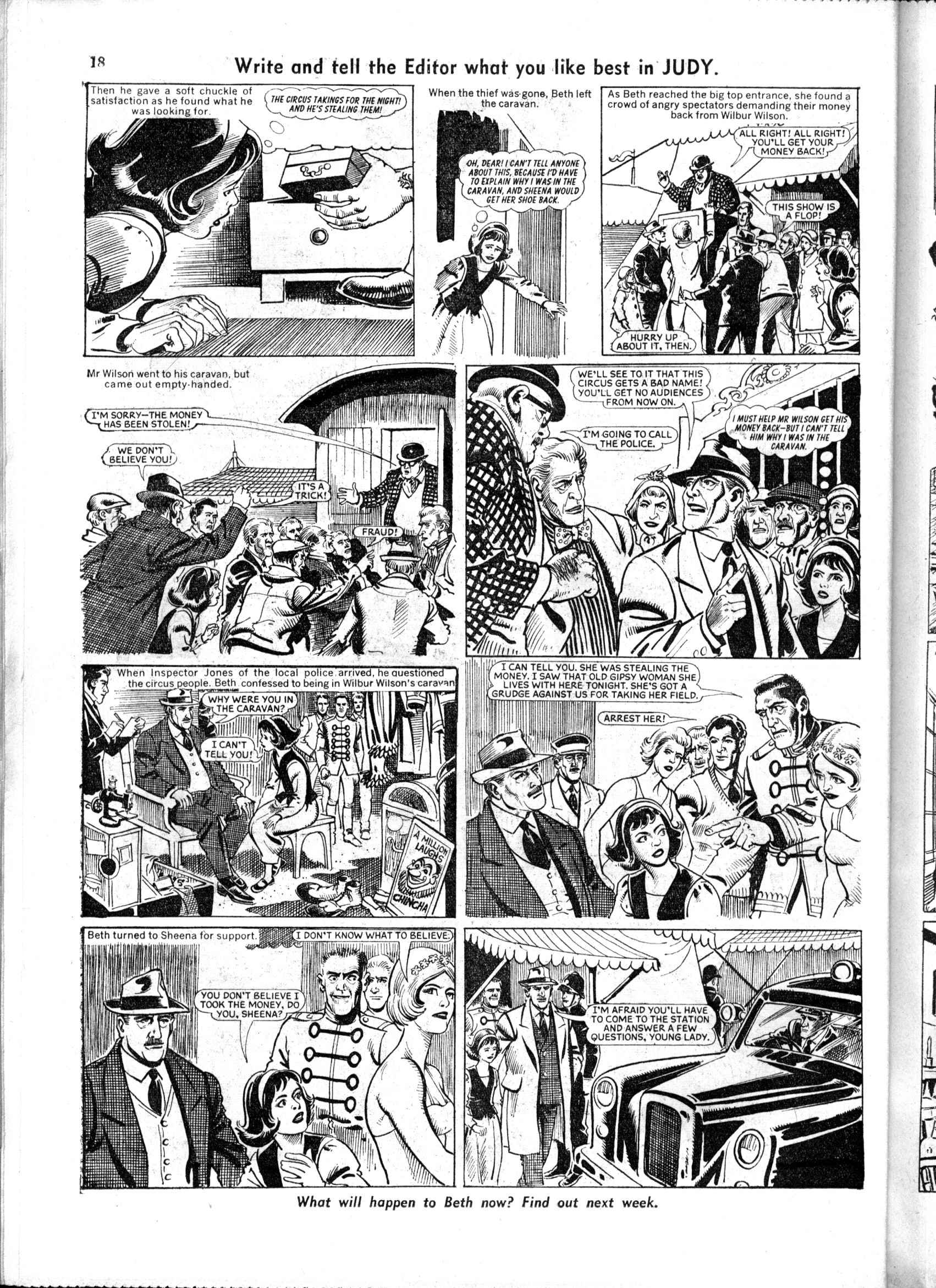 Read online Judy comic -  Issue #163 - 18