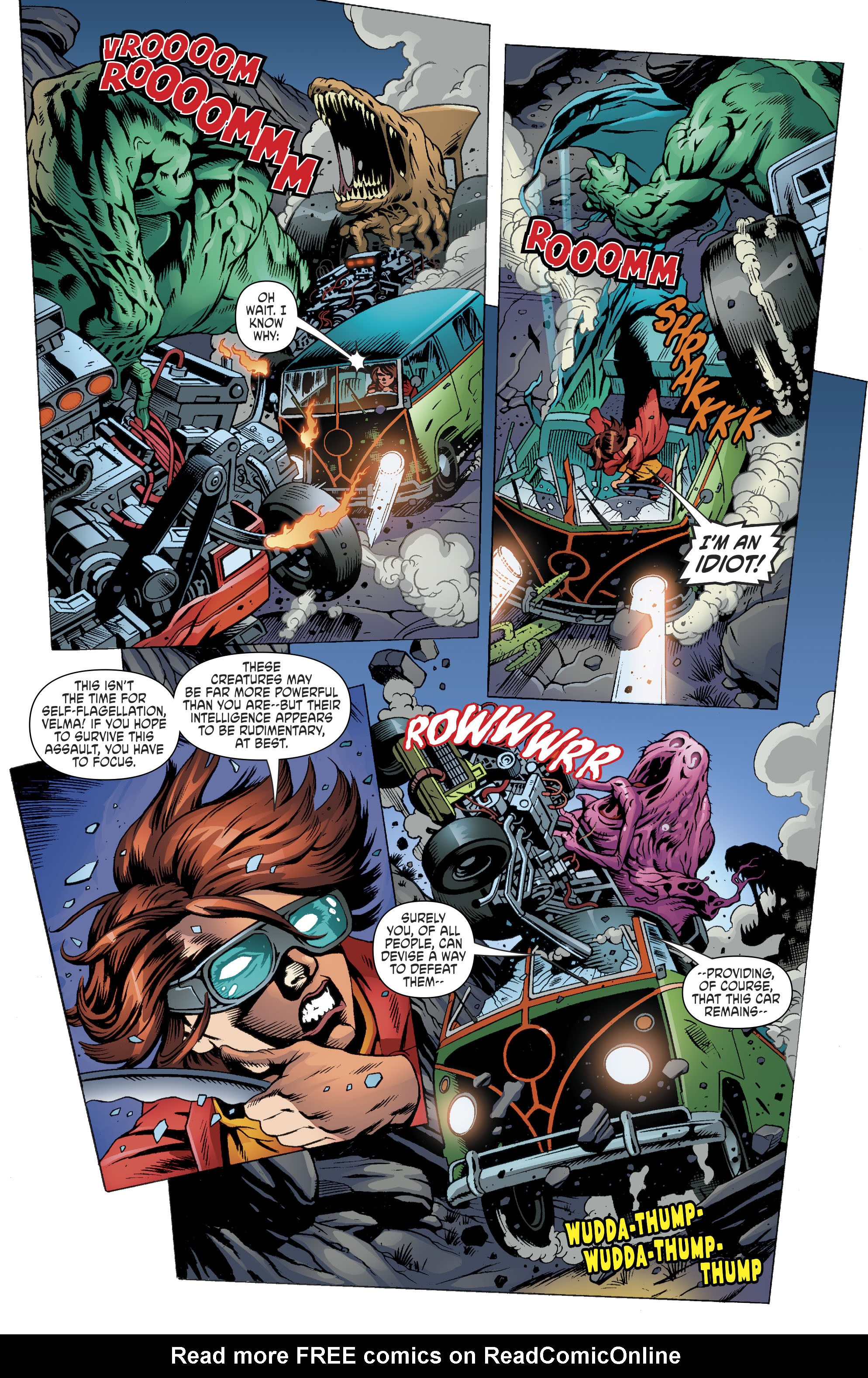 Read online Scooby Apocalypse comic -  Issue #11 - 14