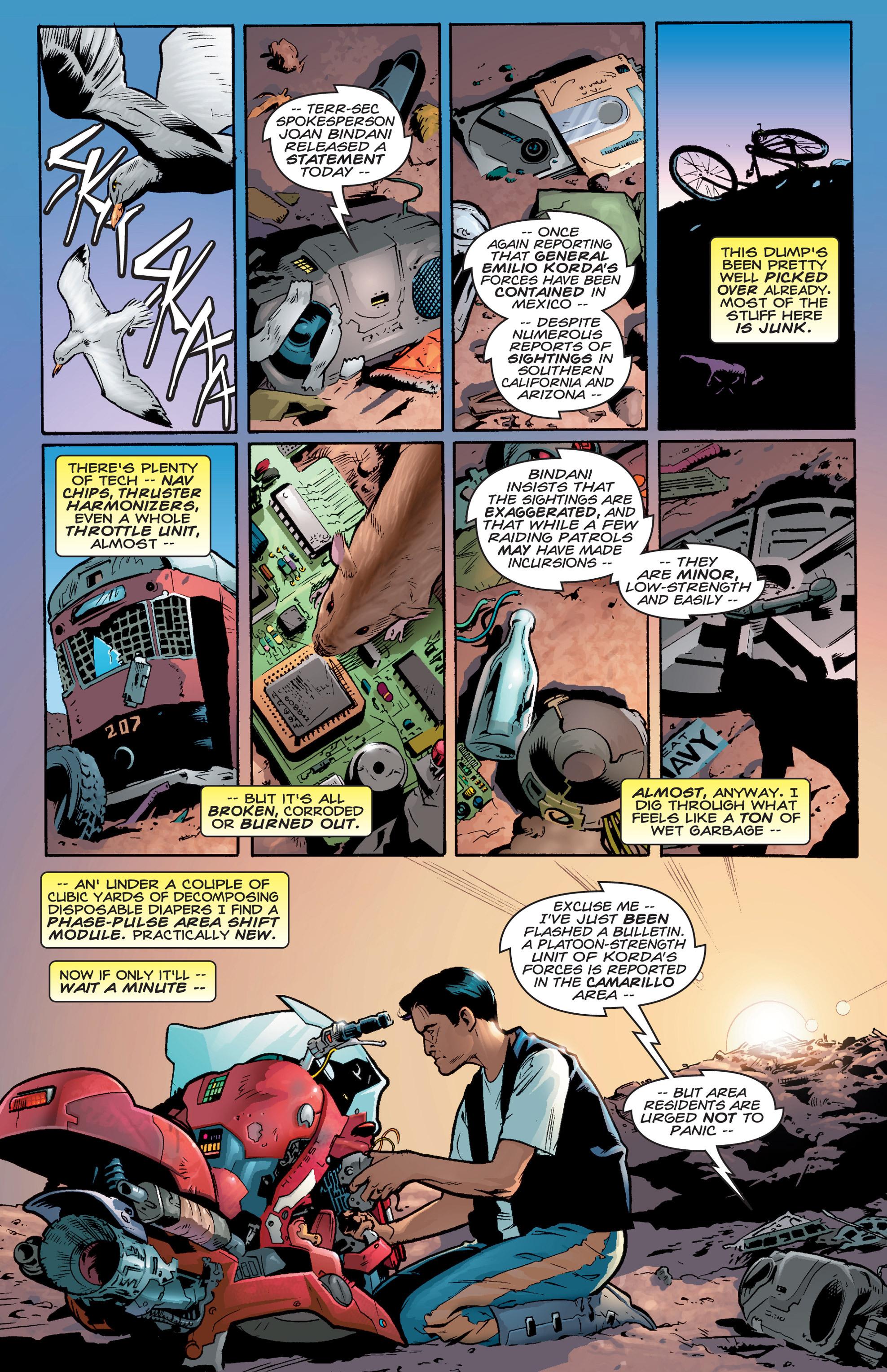 Read online Shockrockets comic -  Issue # TPB - 7
