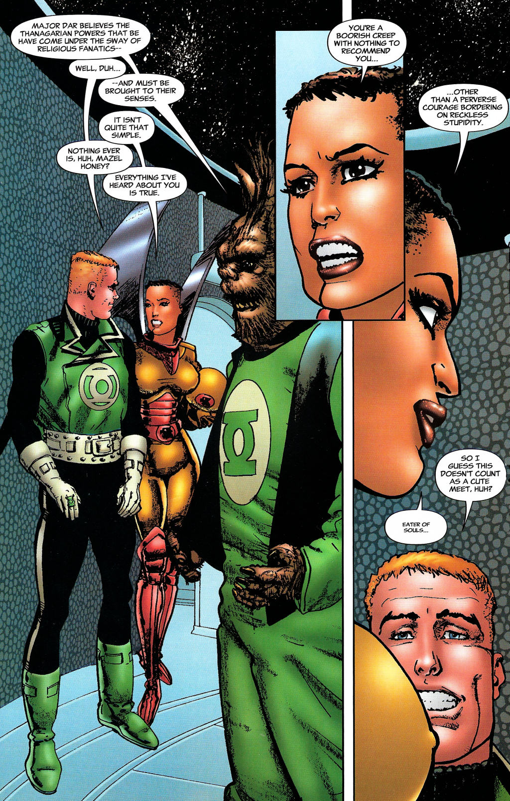 Read online Guy Gardner: Collateral Damage comic -  Issue #1 - 21