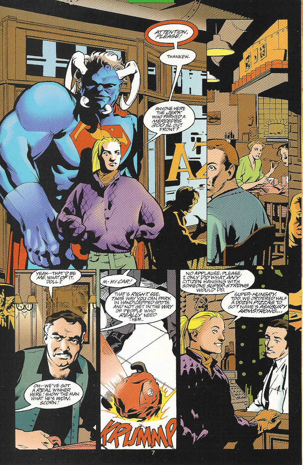 Read online Adventures of Superman (1987) comic -  Issue #548 - 8