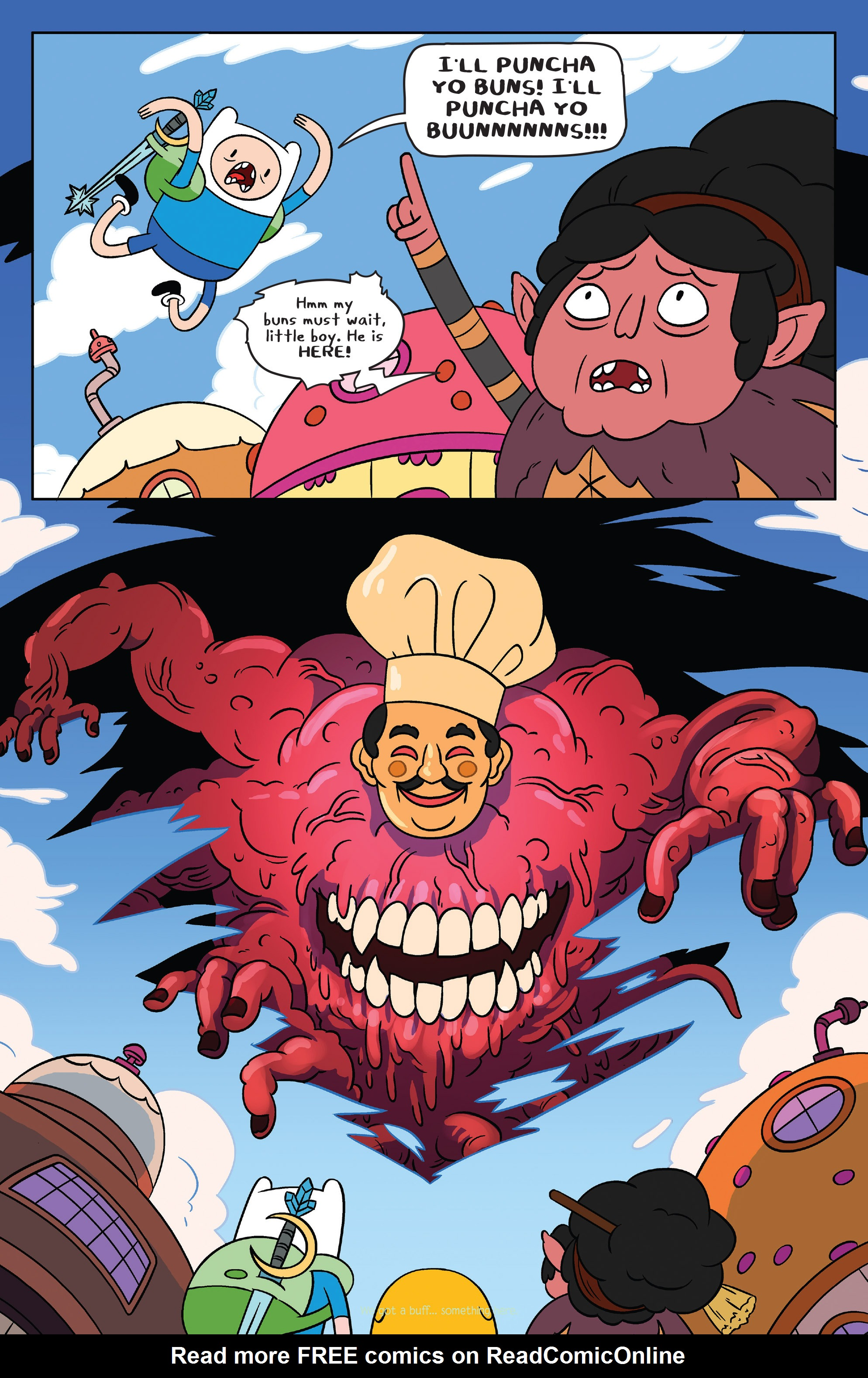 Read online Adventure Time comic -  Issue #39 - 5
