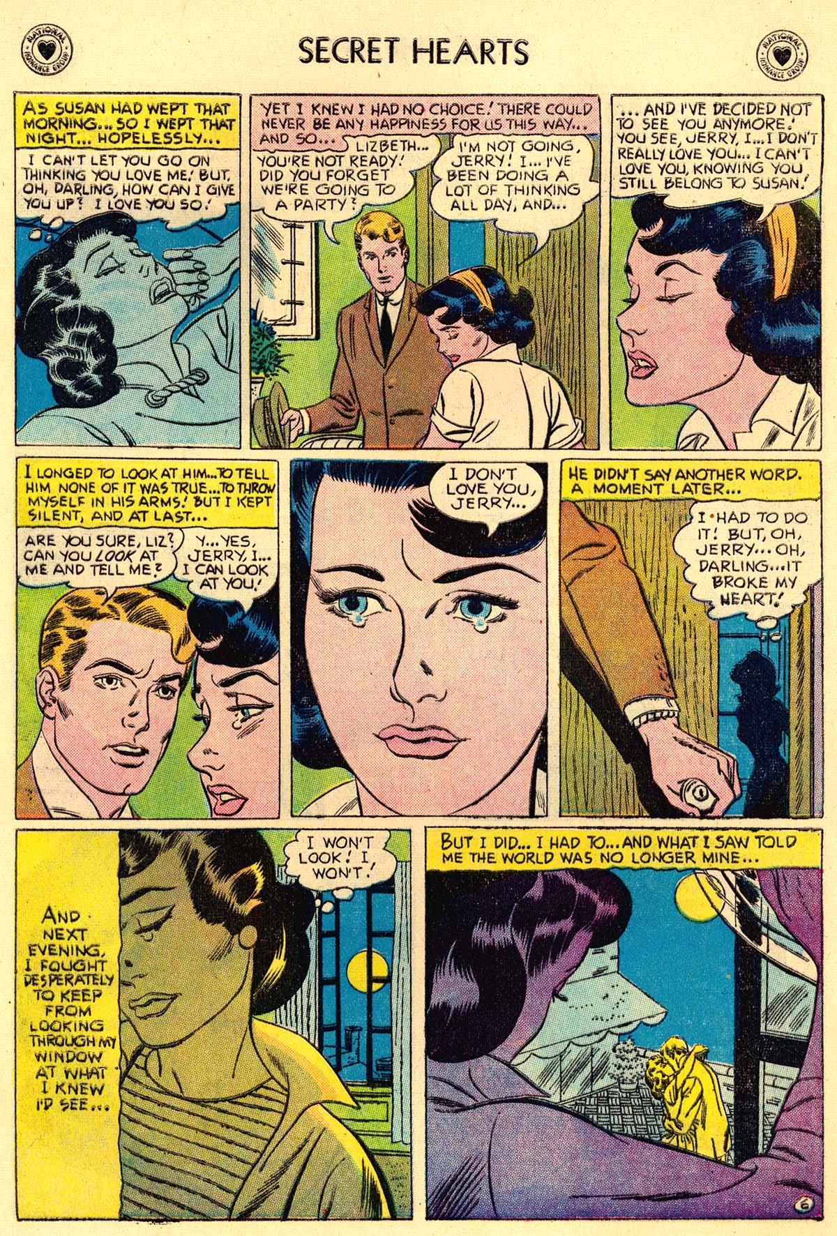 Read online Secret Hearts comic -  Issue #43 - 8