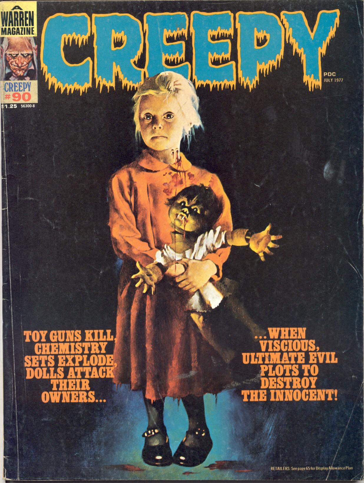 Creepy (1964) 90 Page 1