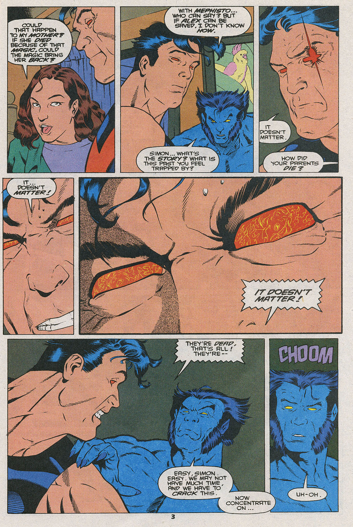 Read online Wonder Man (1991) comic -  Issue #25 - 4