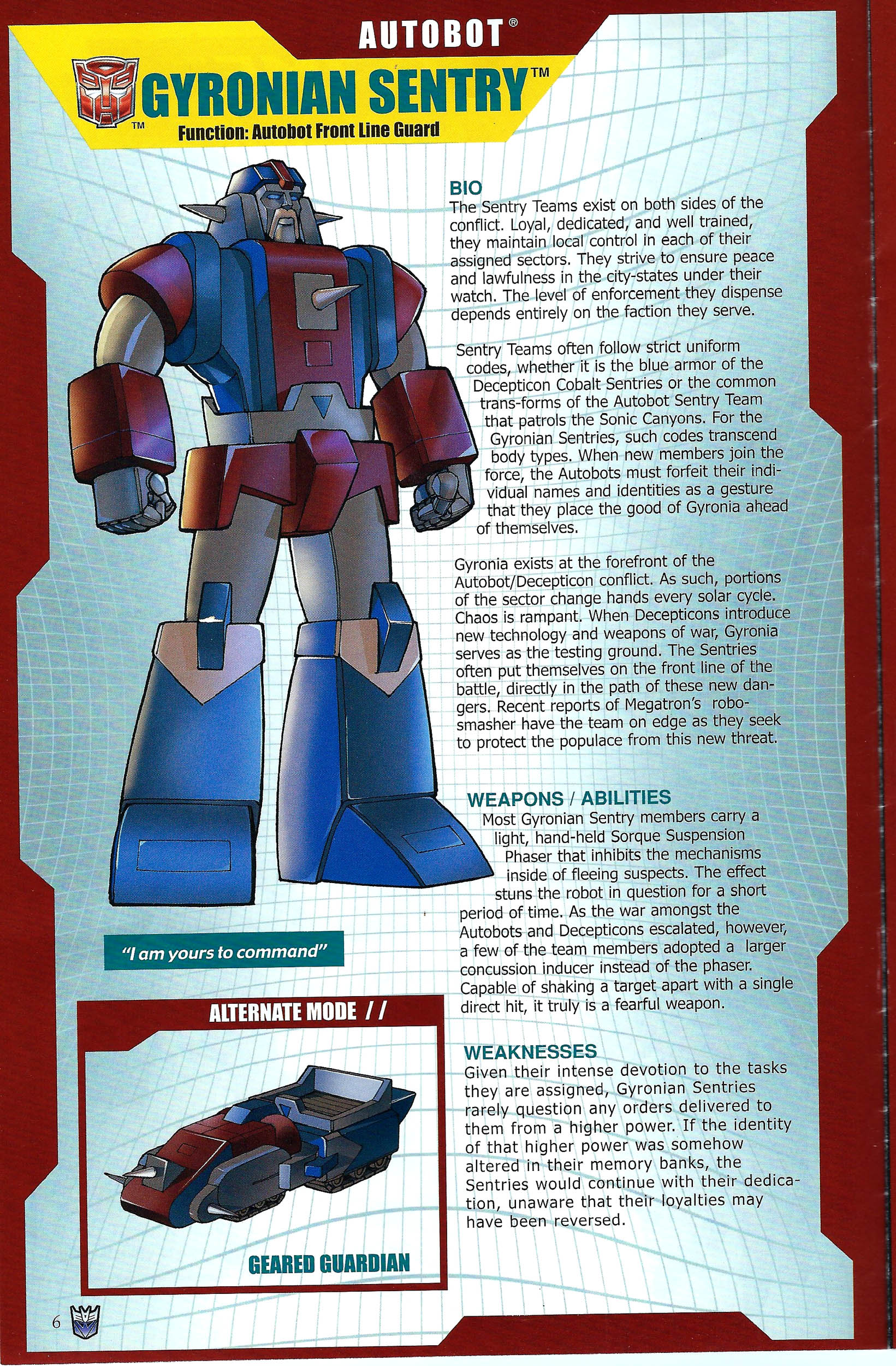 Read online Transformers: Collectors' Club comic -  Issue #41 - 6