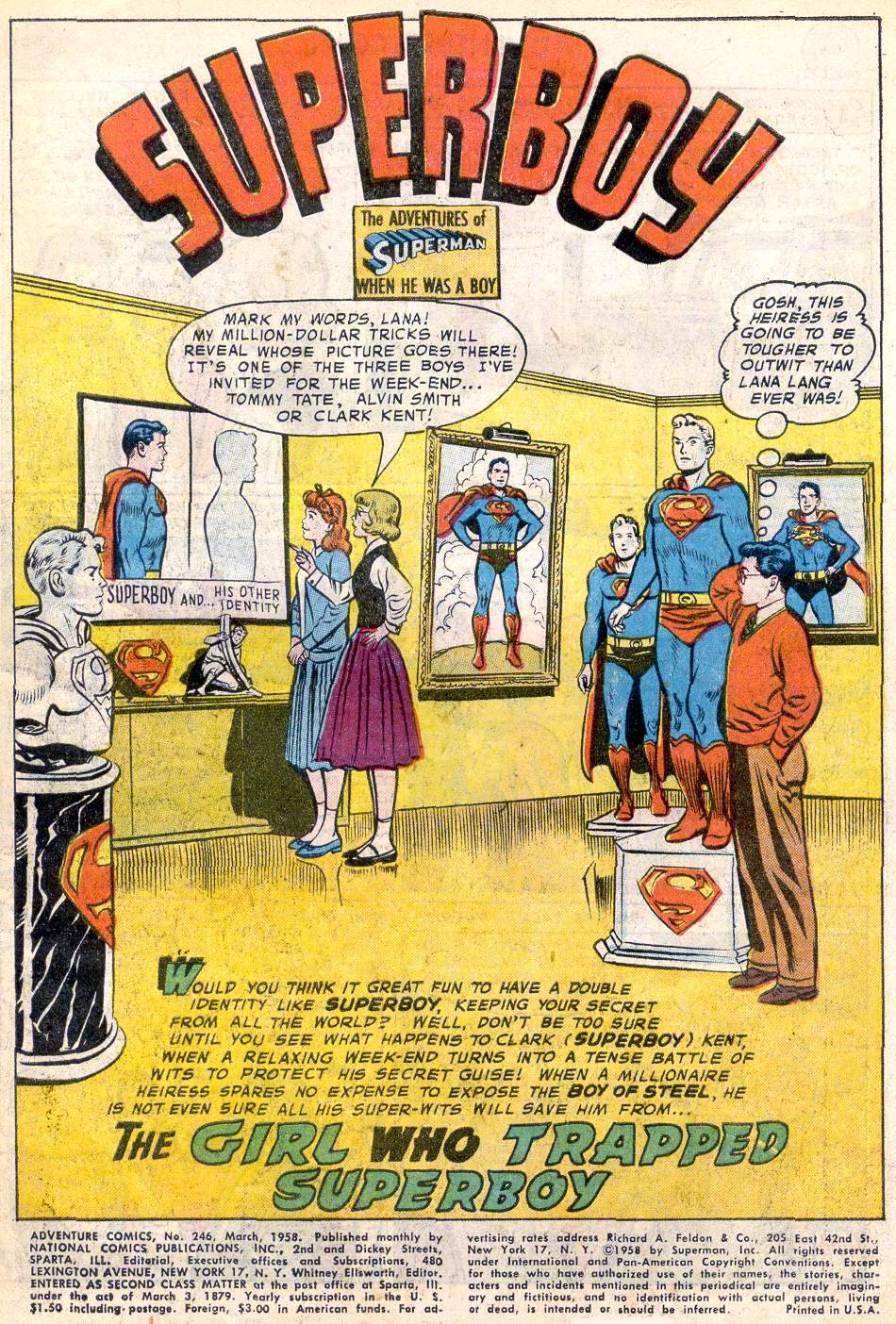 Read online Adventure Comics (1938) comic -  Issue #246 - 3