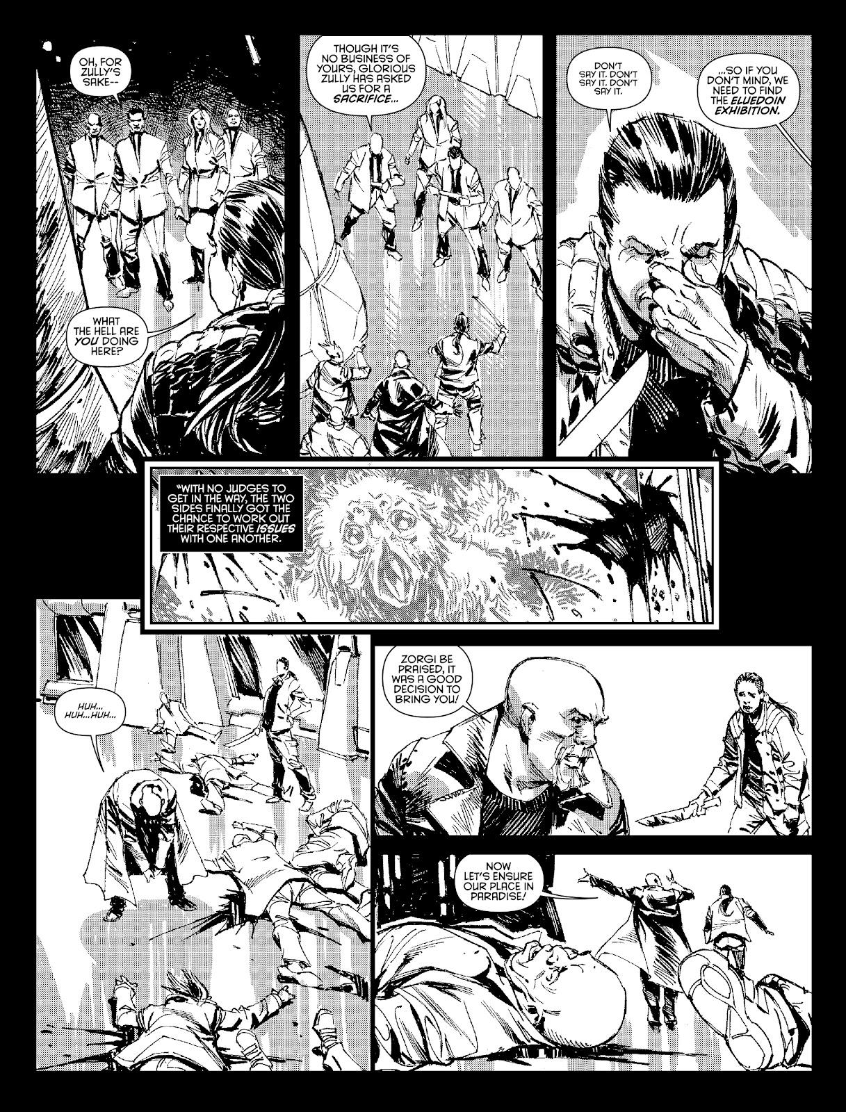 Judge Dredd Megazine (Vol. 5) Issue #381 #180 - English 30
