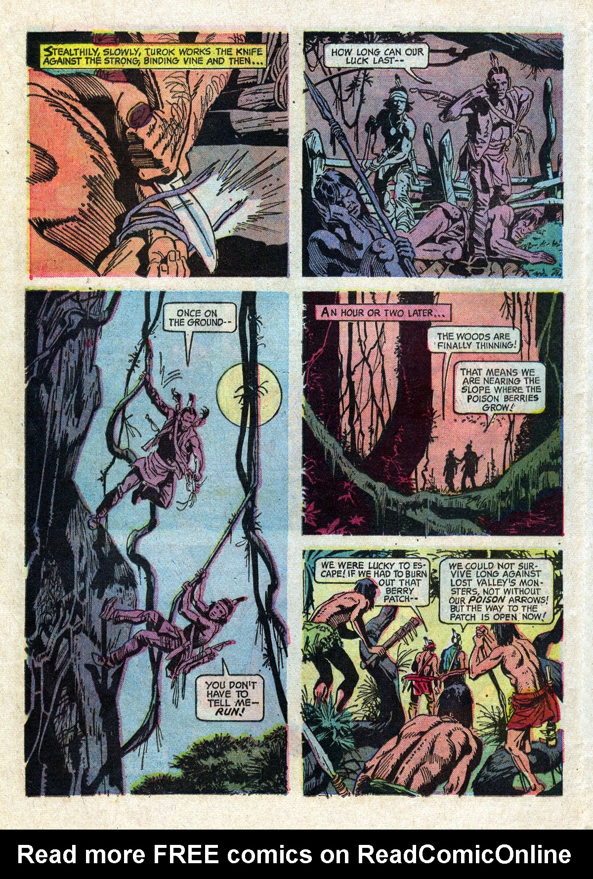 Read online Turok, Son of Stone comic -  Issue #61 - 24