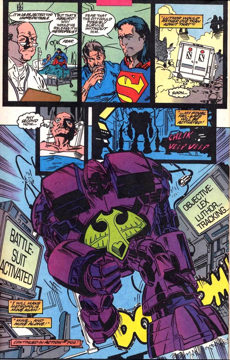Read online Adventures of Superman (1987) comic -  Issue #514 - 23