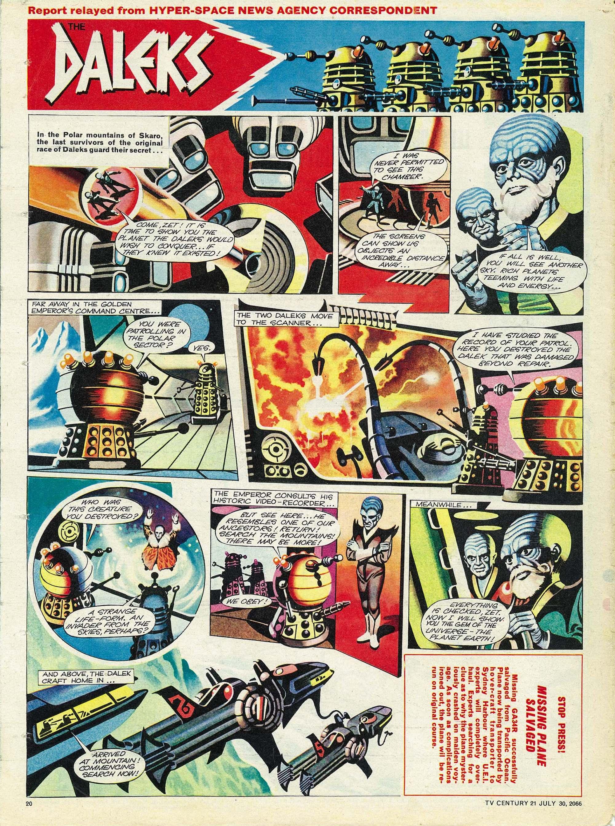 Read online TV Century 21 (TV 21) comic -  Issue #80 - 19