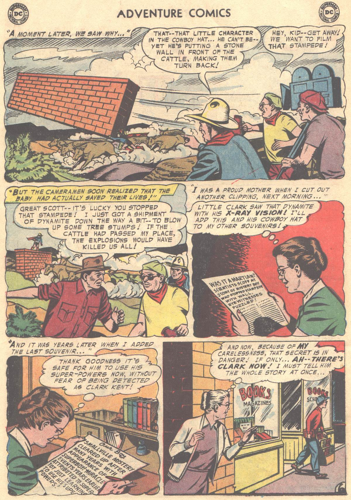 Read online Adventure Comics (1938) comic -  Issue #337 - 30