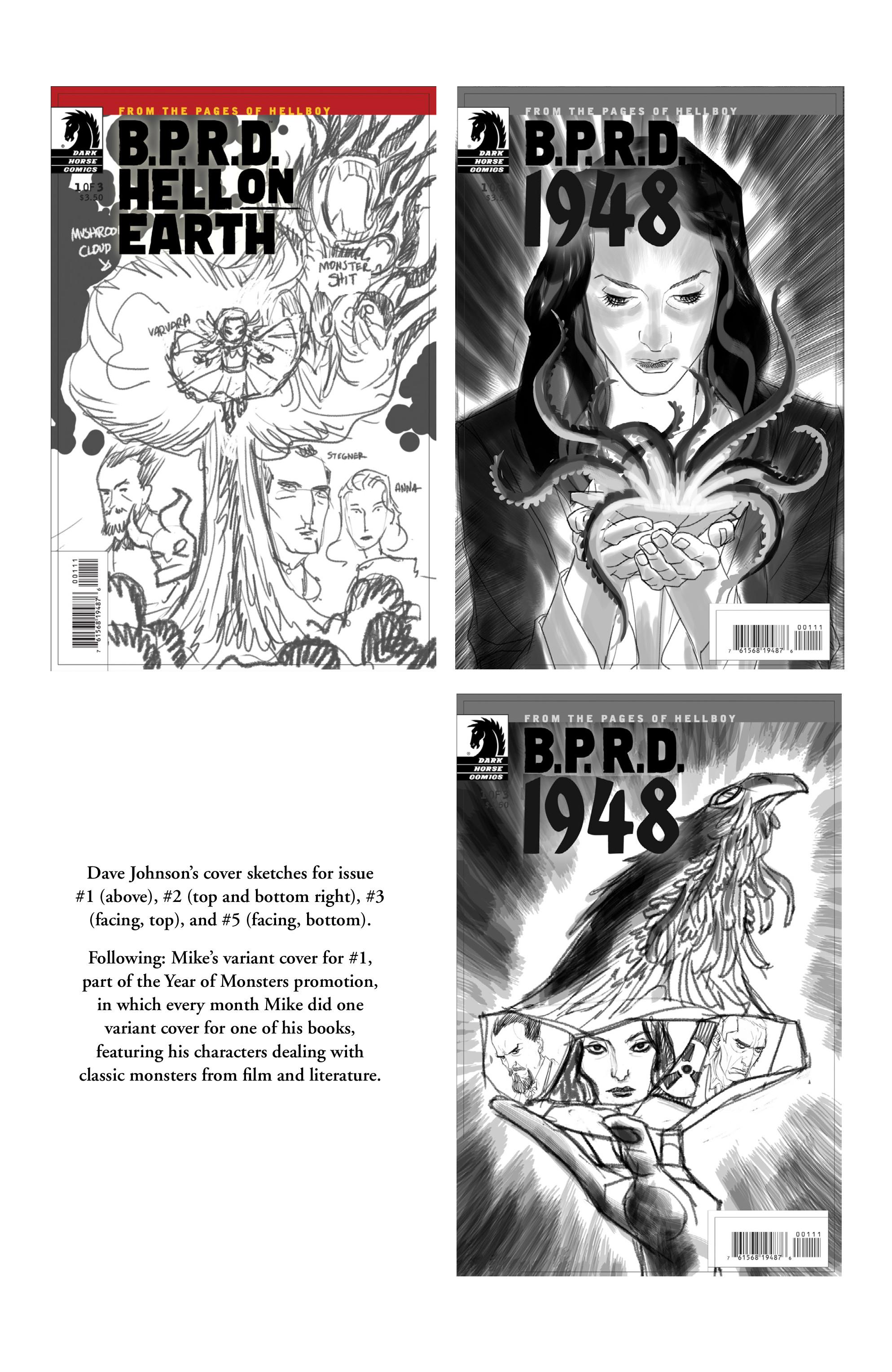 Read online B.P.R.D.: 1948 comic -  Issue # TPB - 140