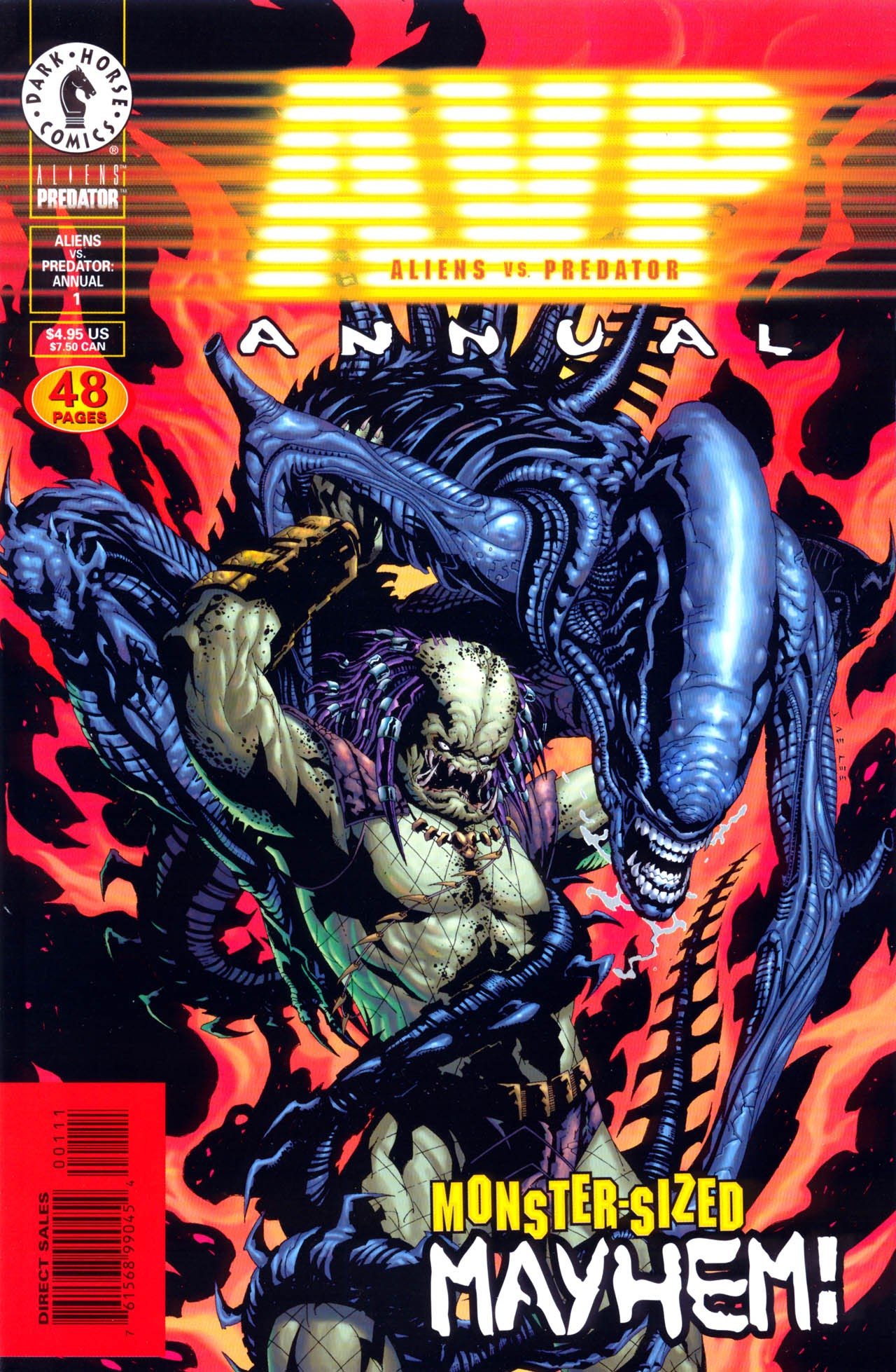 Aliens vs. Predator Annual Full Page 1