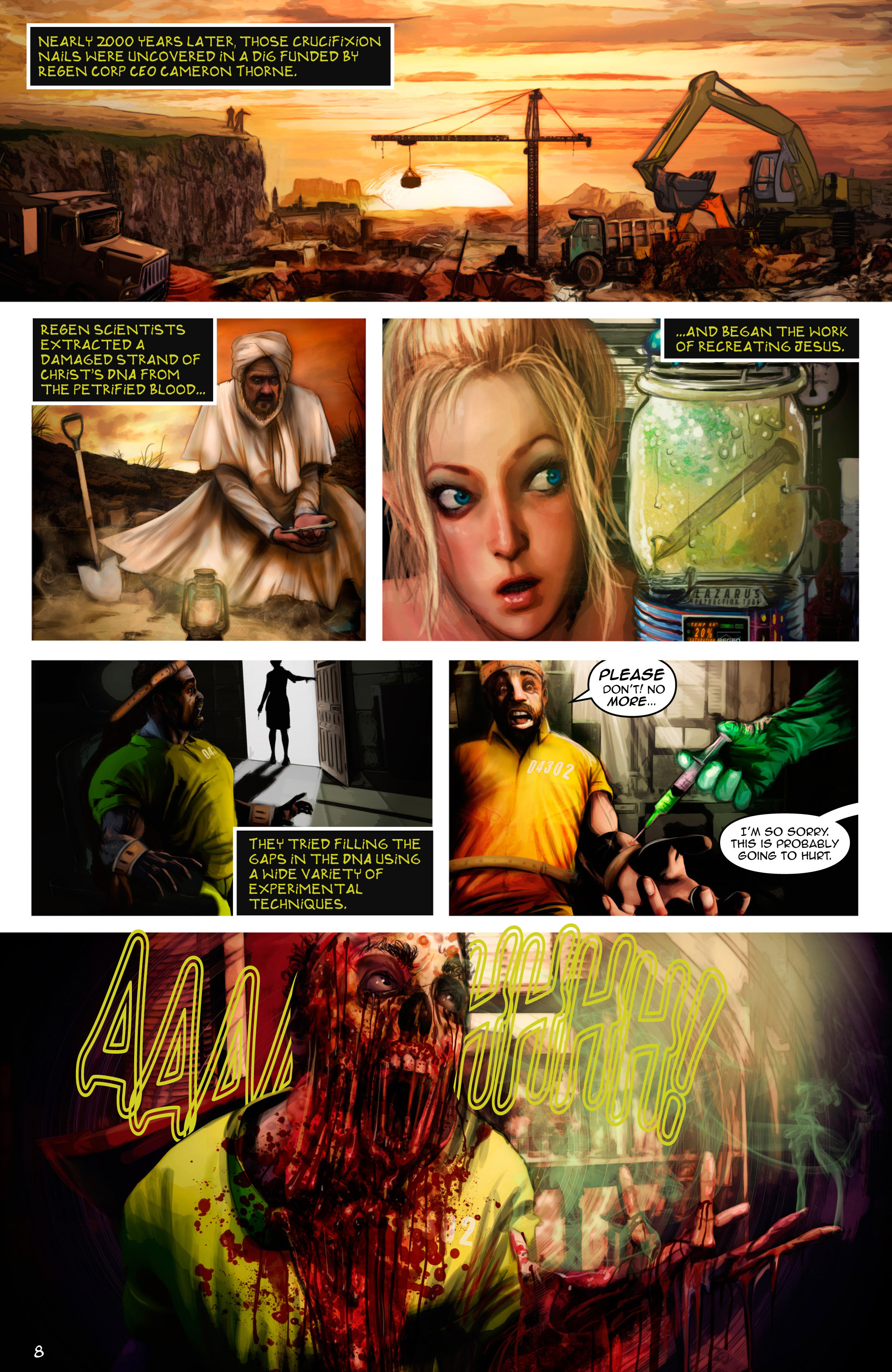 Read online Escape from Jesus Island comic -  Issue #2 - 8