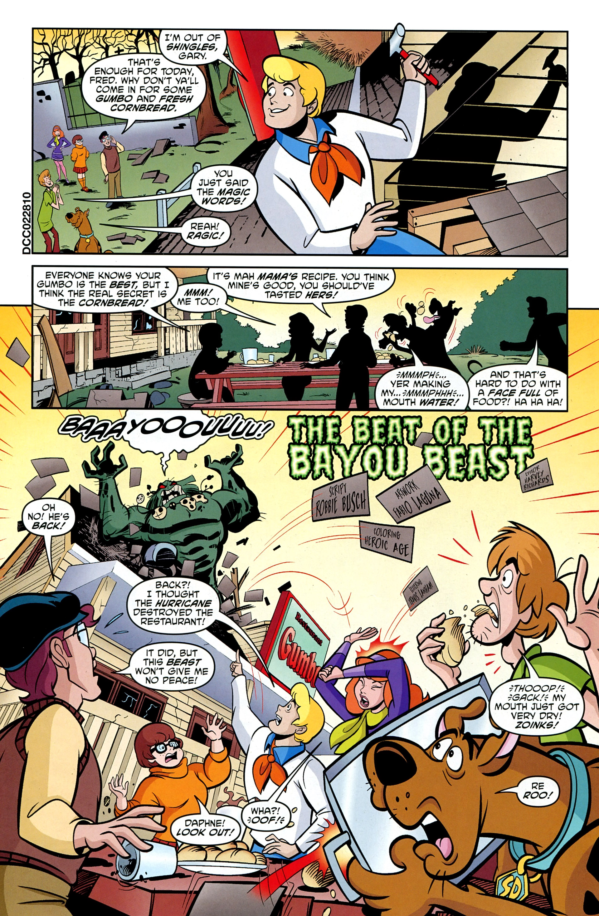 Read online Scooby-Doo: Where Are You? comic -  Issue #33 - 22