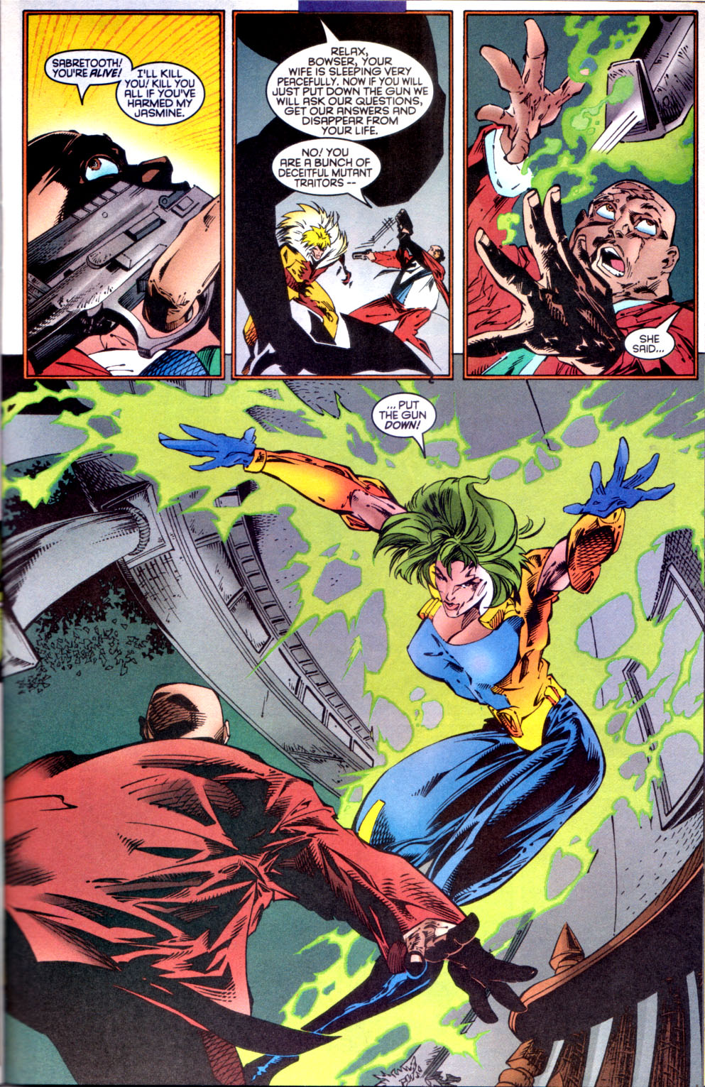 Read online X-Factor (1986) comic -  Issue #134 - 12