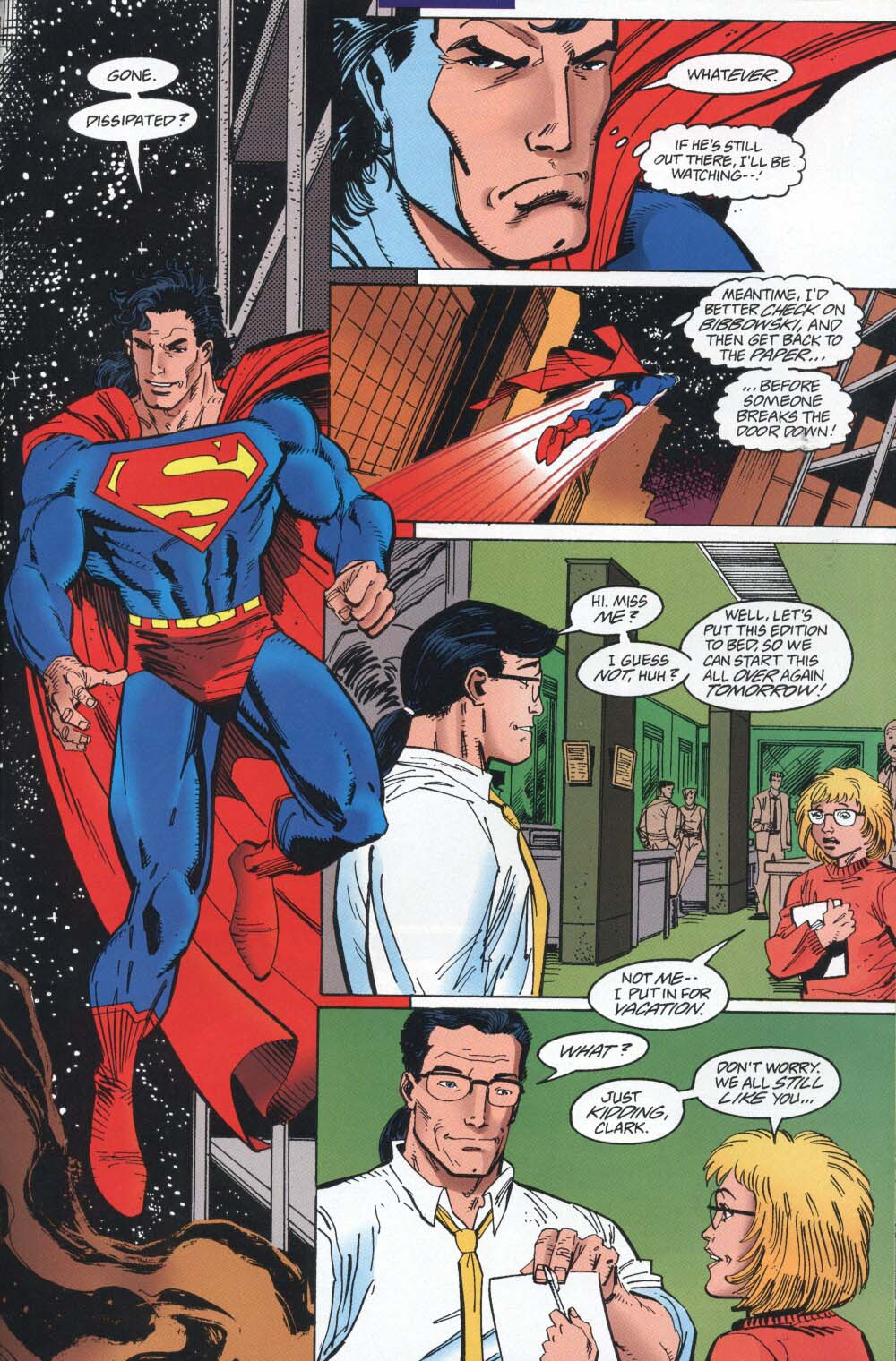Read online Adventures of Superman (1987) comic -  Issue #539 - 22