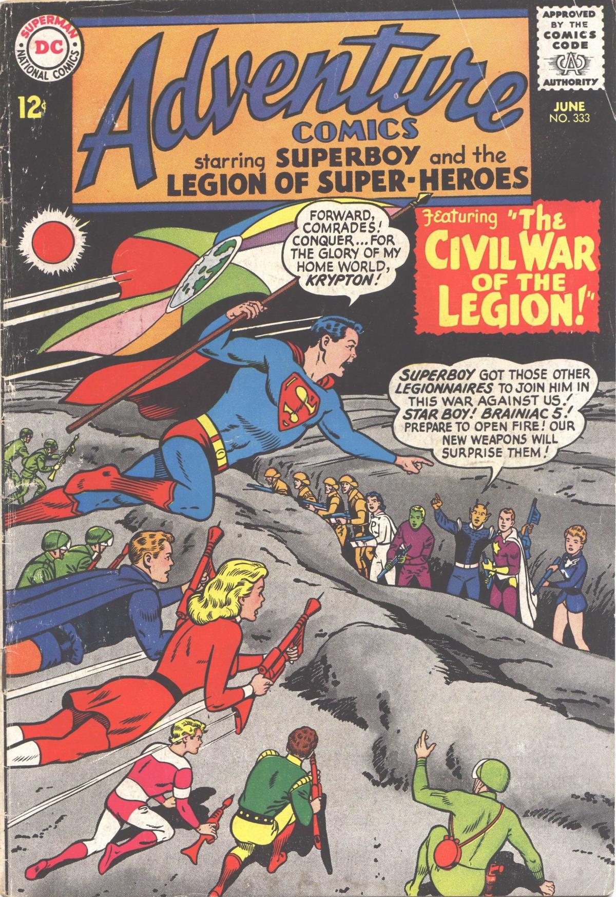 Read online Adventure Comics (1938) comic -  Issue #333 - 1