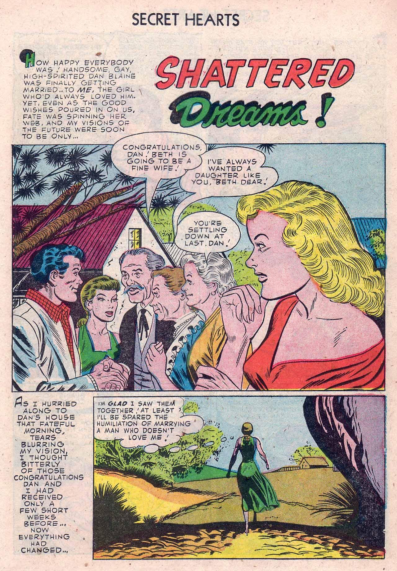 Read online Secret Hearts comic -  Issue #12 - 11
