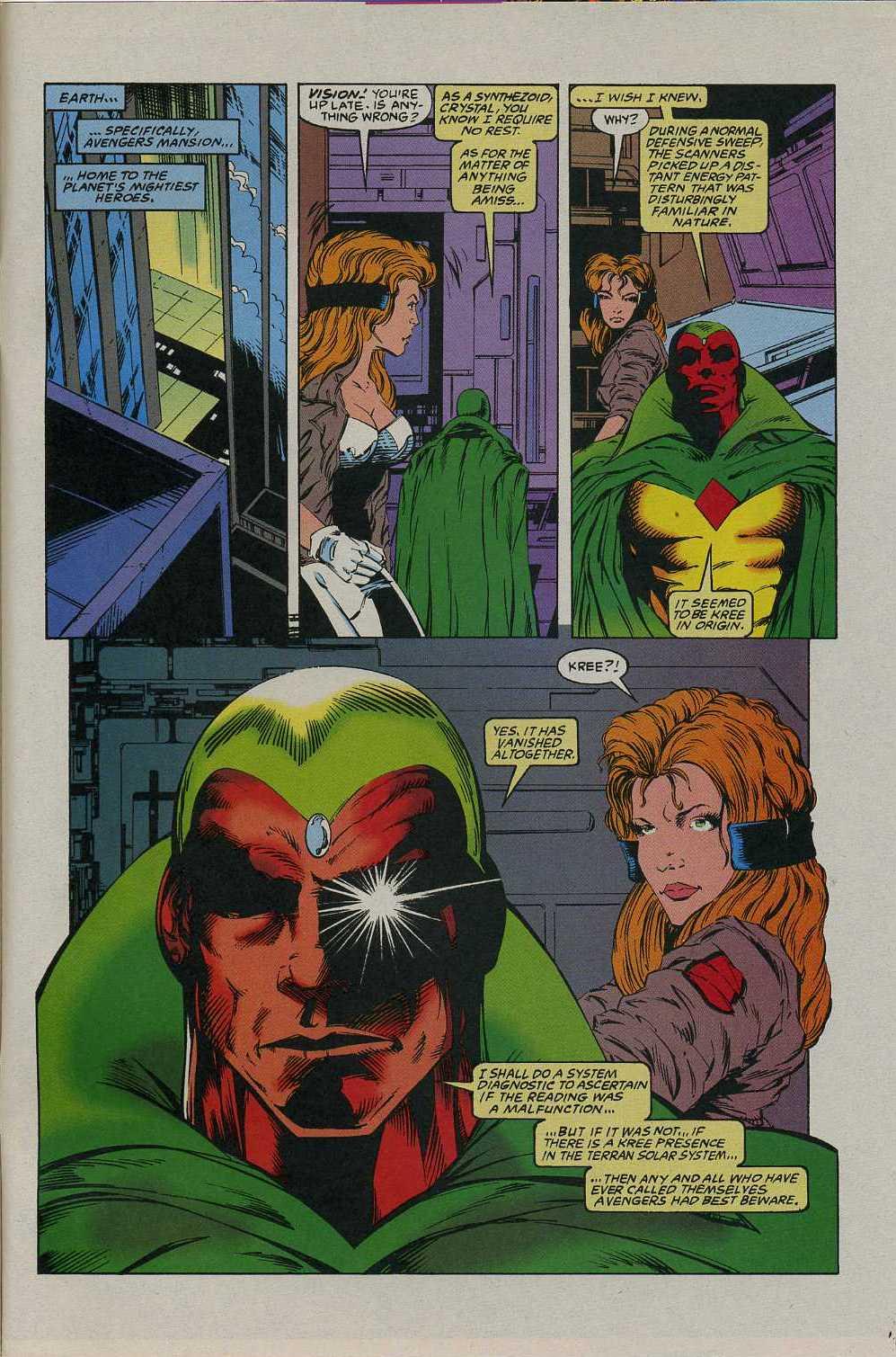 Read online Avengers Strike File comic -  Issue # Full - 32