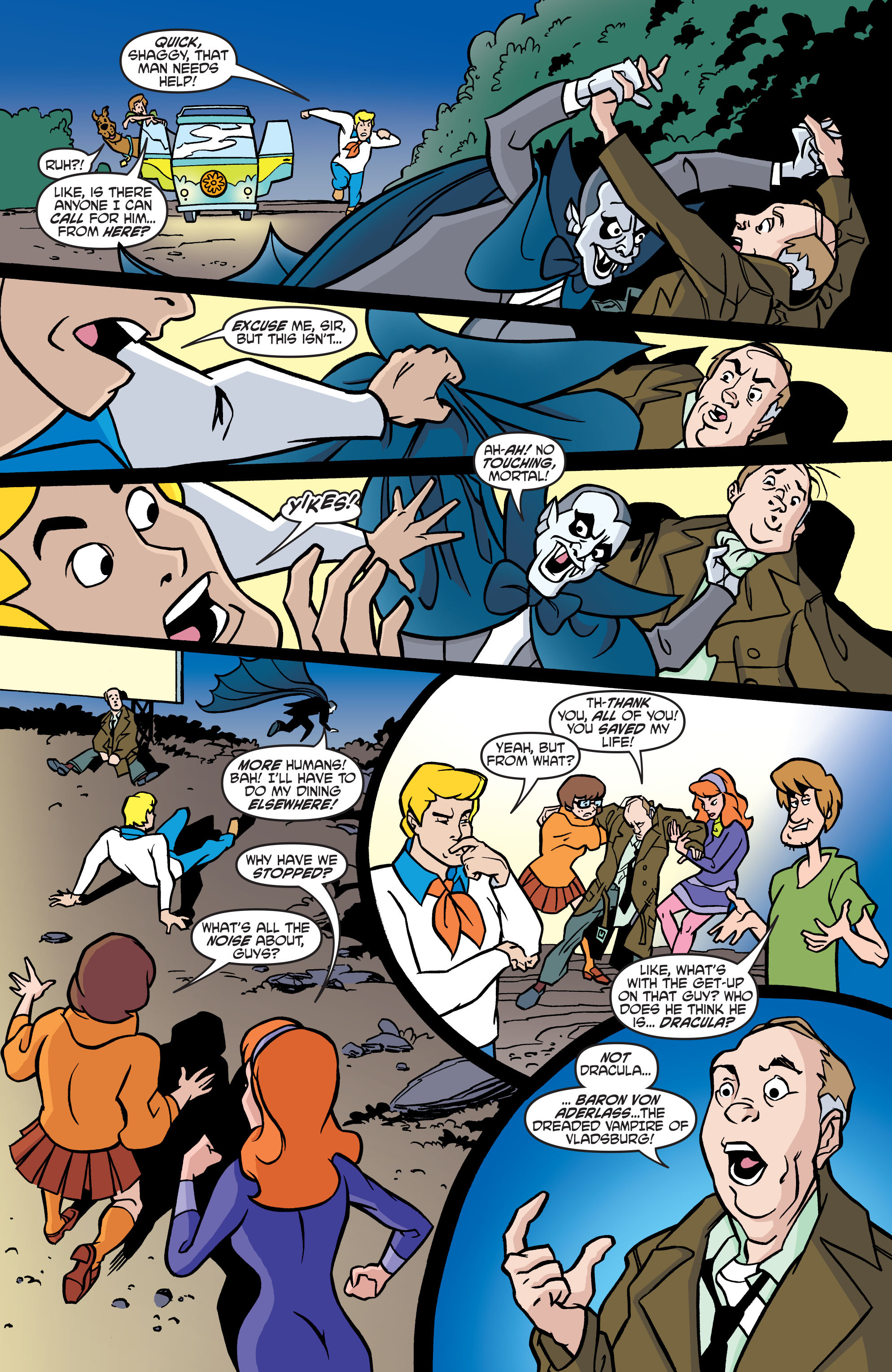 Read online Scooby-Doo: Where Are You? comic -  Issue #57 - 13
