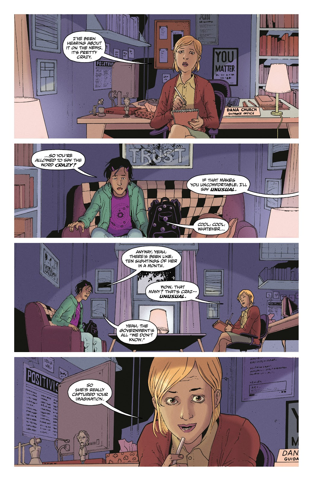 Read online She Could Fly comic -  Issue # _TPB - 9