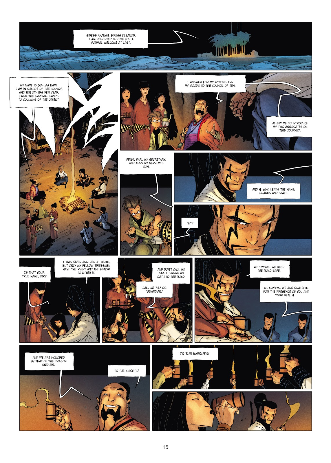 Read online Chronicles of the Dragon Knights comic -  Issue #19 - 15