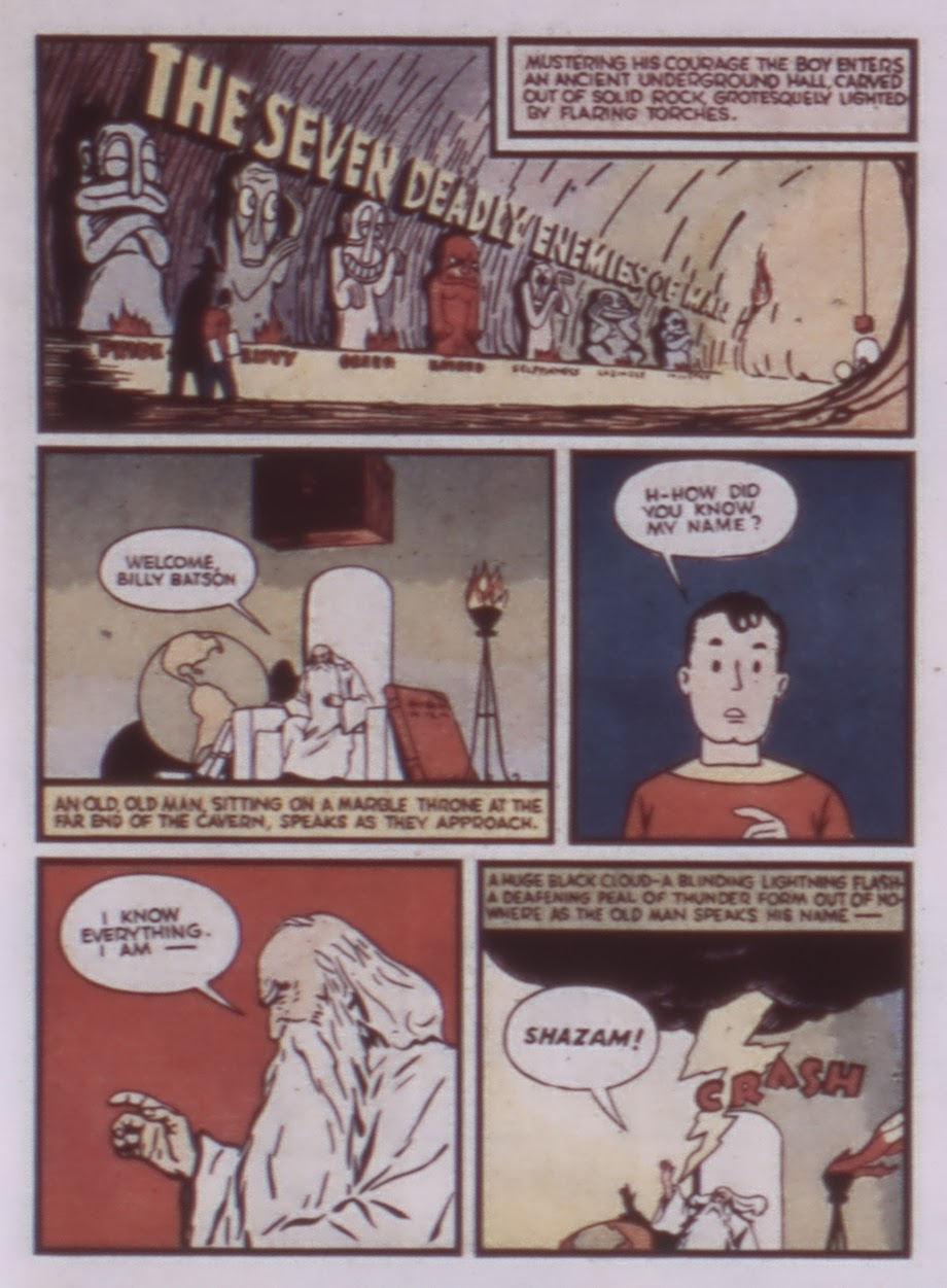Read online WHIZ Comics comic -  Issue #1 - 5