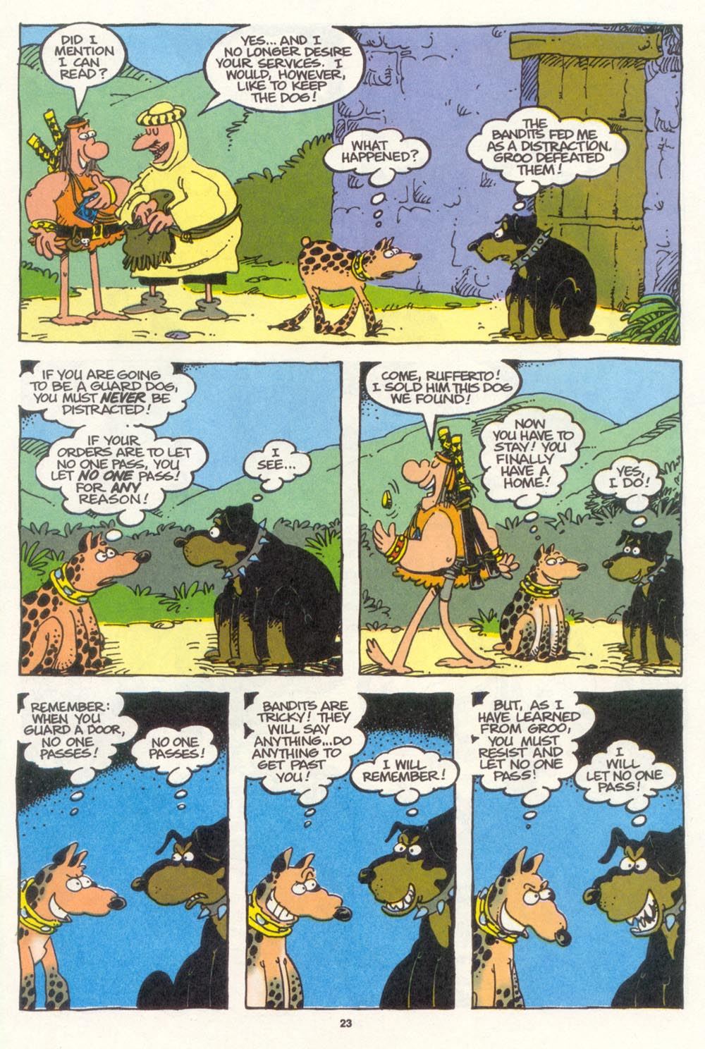 Read online Sergio Aragonés Groo the Wanderer comic -  Issue #104 - 25