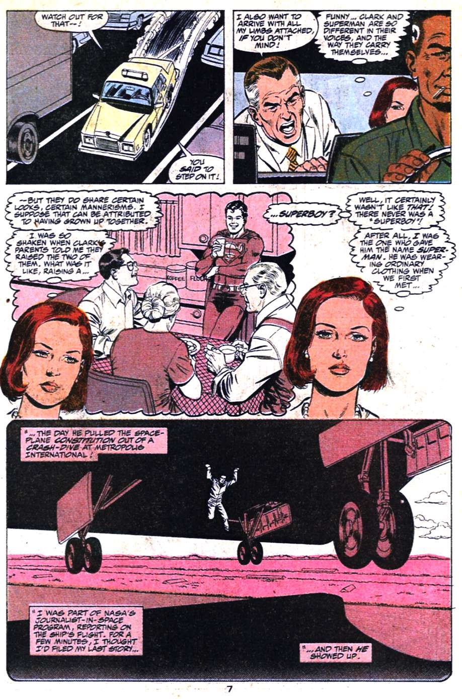 Read online Action Comics (1938) comic -  Issue #650 - 8